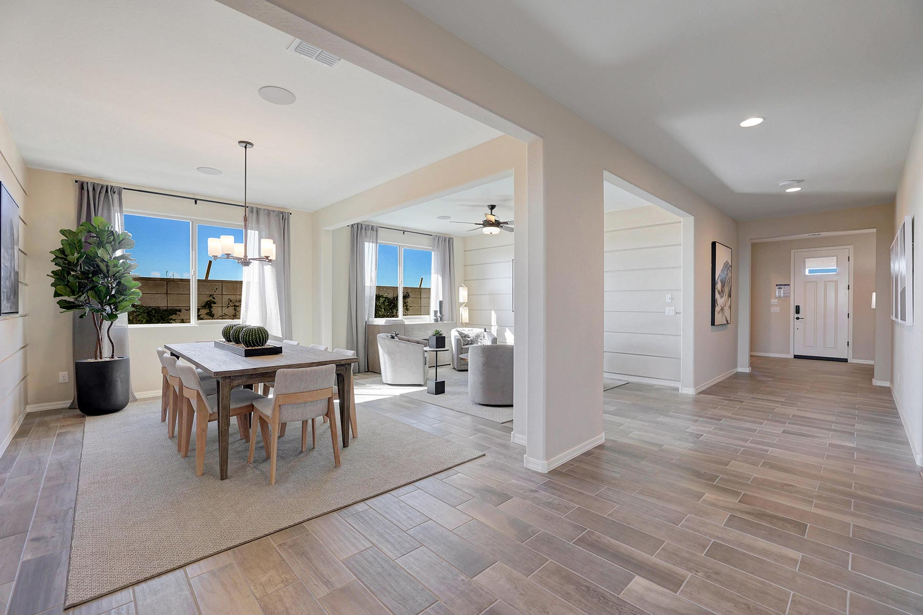 Bellwood Plan Dining at Azure Canyon in Goodyear Arizona by Mattamy Homes