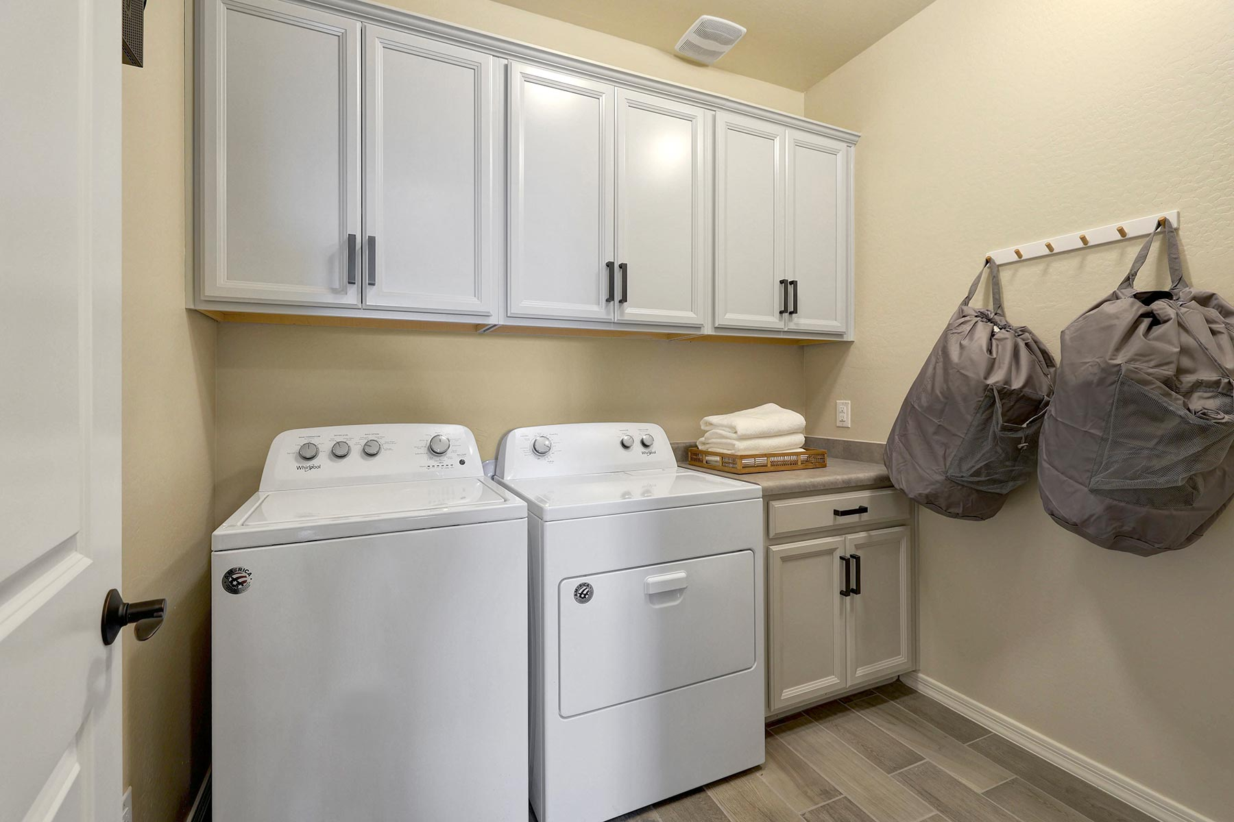 Bellwood Plan Laundry at Azure Canyon in Goodyear Arizona by Mattamy Homes