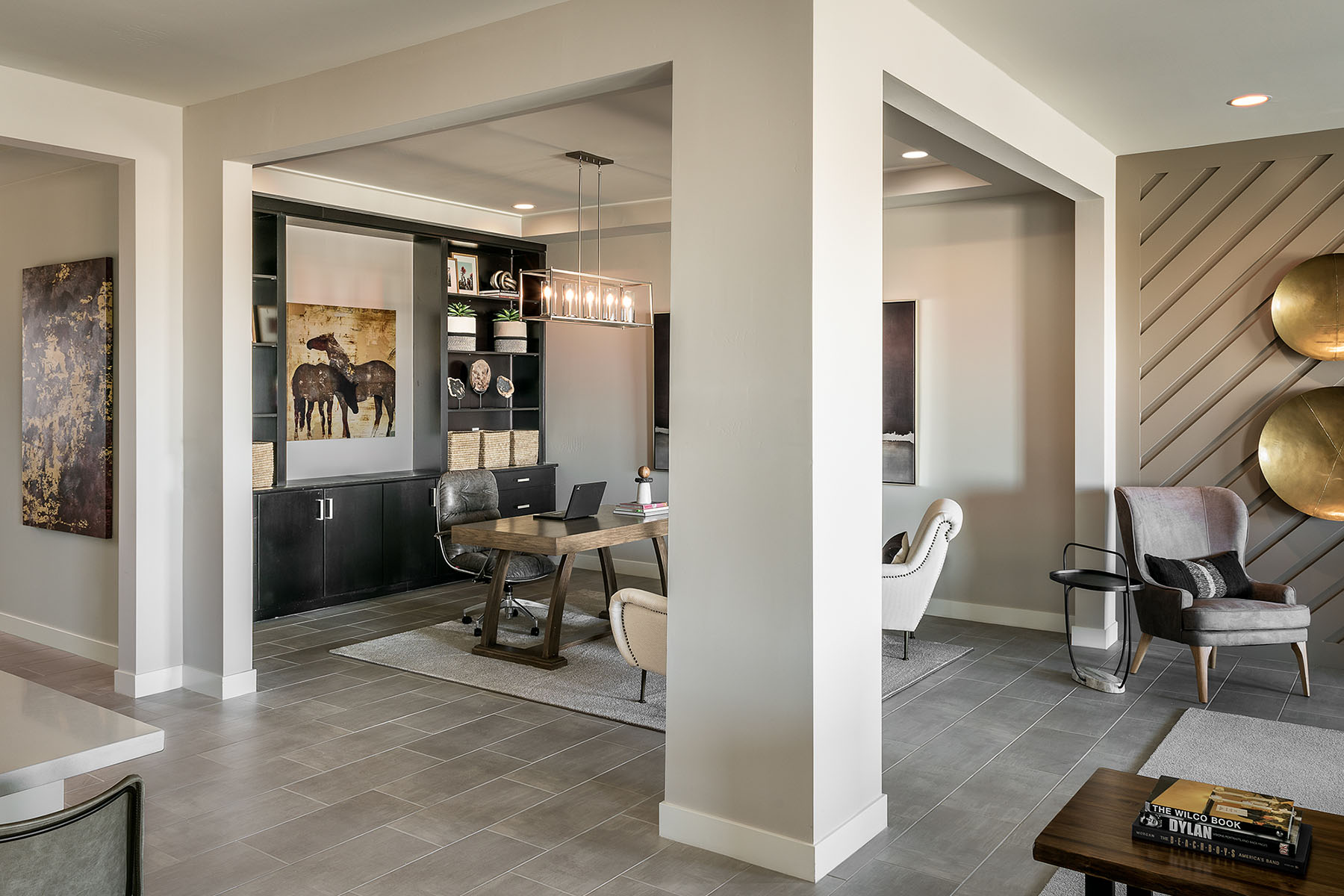 Brookstone Plan Study Room at Azure Canyon in Litchfield Park Arizona by Mattamy Homes