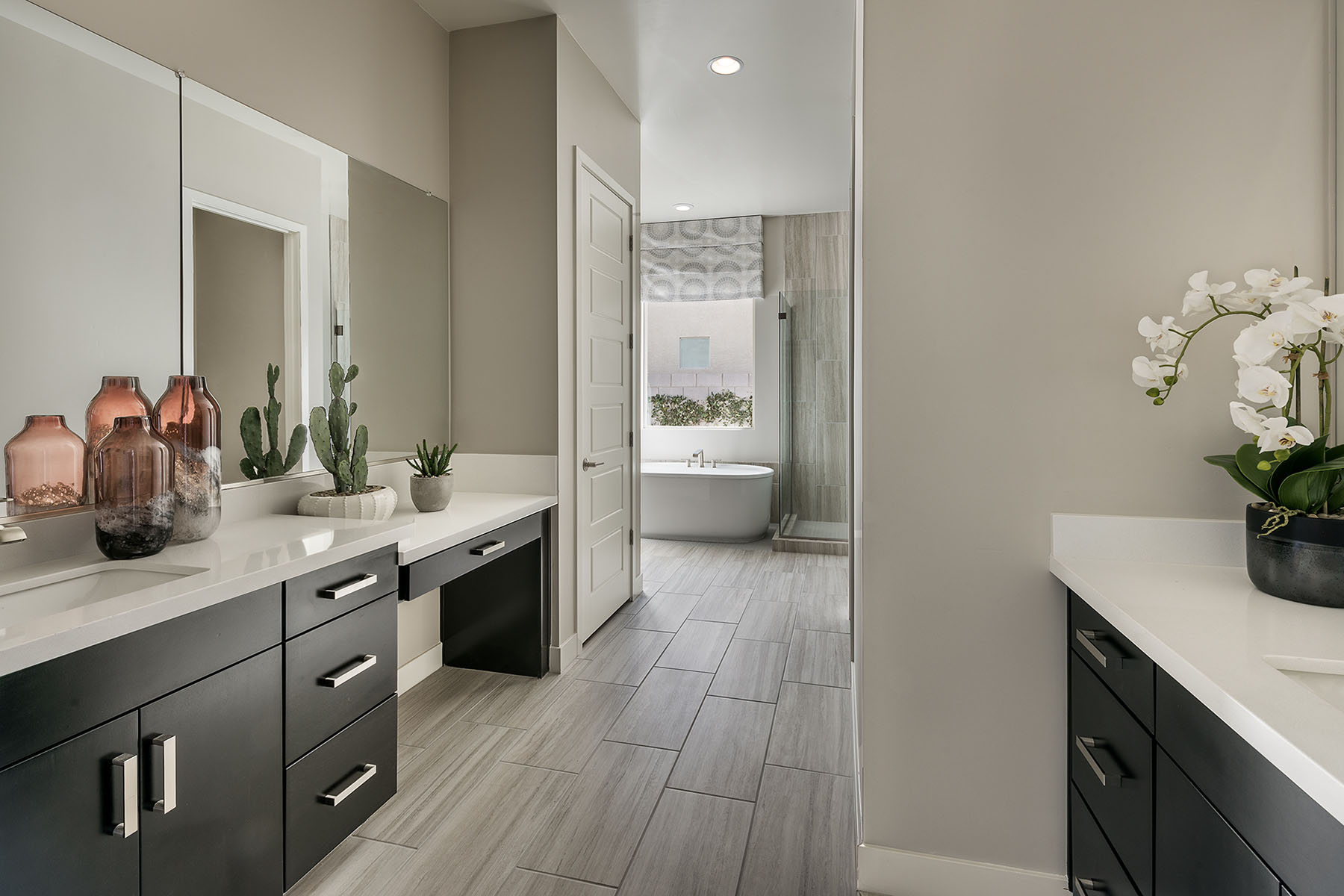 Brookstone Plan Bathroom_Master Bath at Azure Canyon in Litchfield Park Arizona by Mattamy Homes