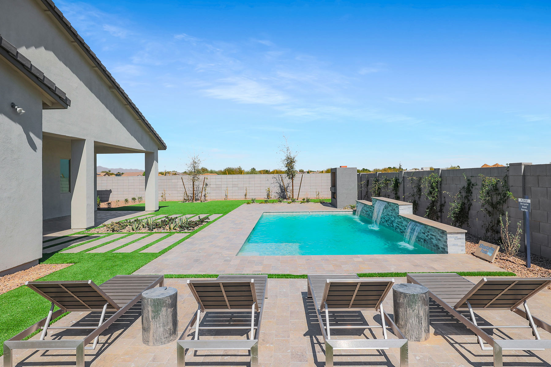 Brookstone Plan WaterFeatures at Azure Canyon in Litchfield Park Arizona by Mattamy Homes