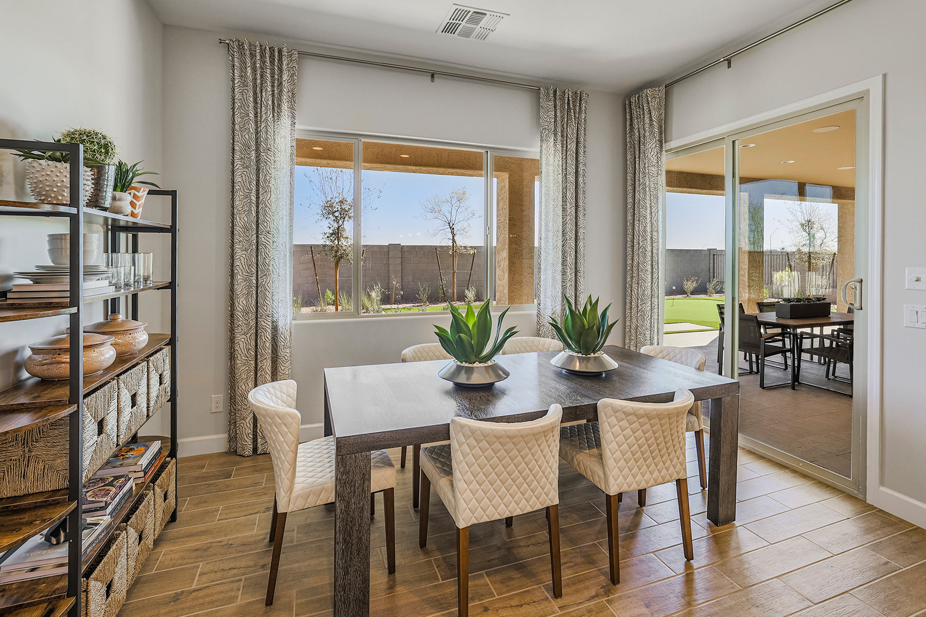 Castleton Plan Dining at Azure Canyon in Litchfield Park Arizona by Mattamy Homes