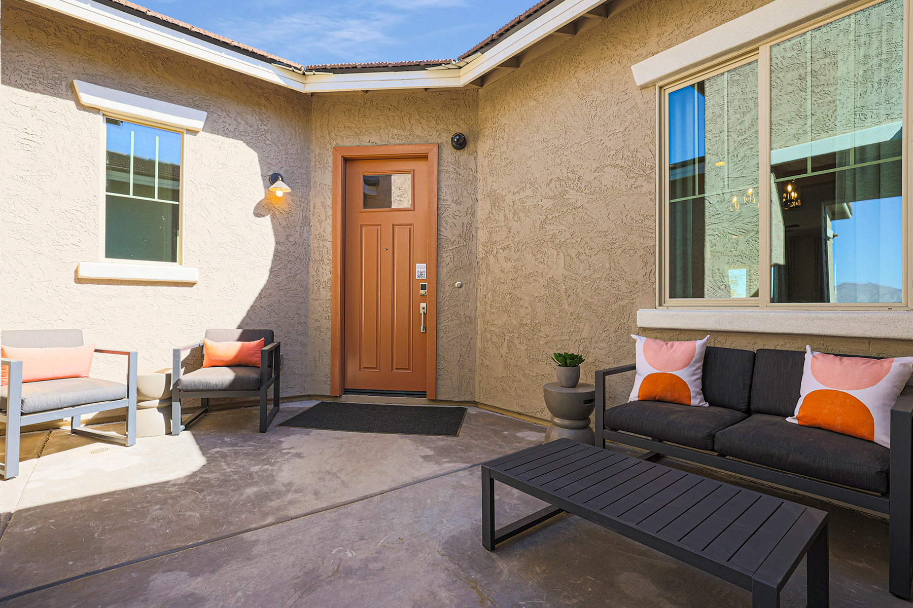 Castleton Plan Front Porch at Azure Canyon in Litchfield Park Arizona by Mattamy Homes
