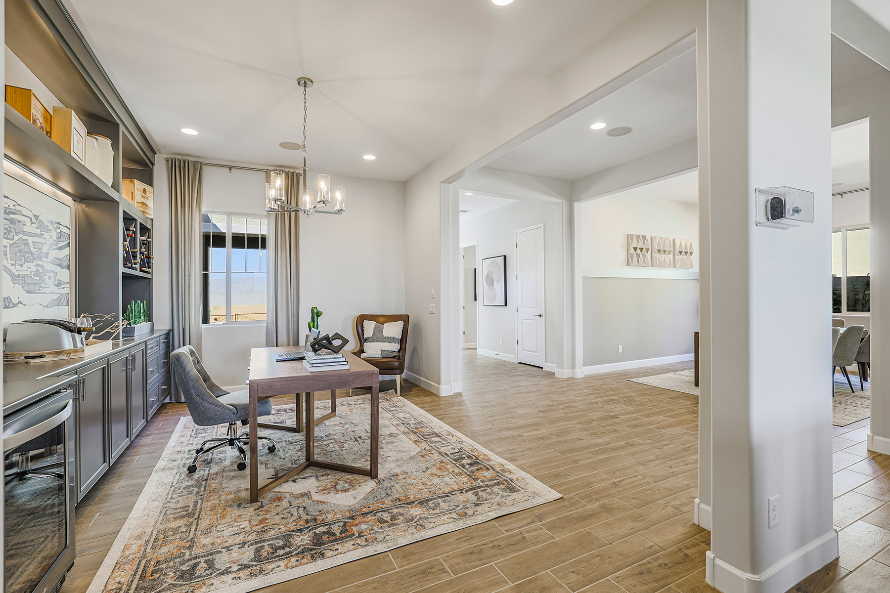 Castleton Plan Study Room at Azure Canyon in Litchfield Park Arizona by Mattamy Homes