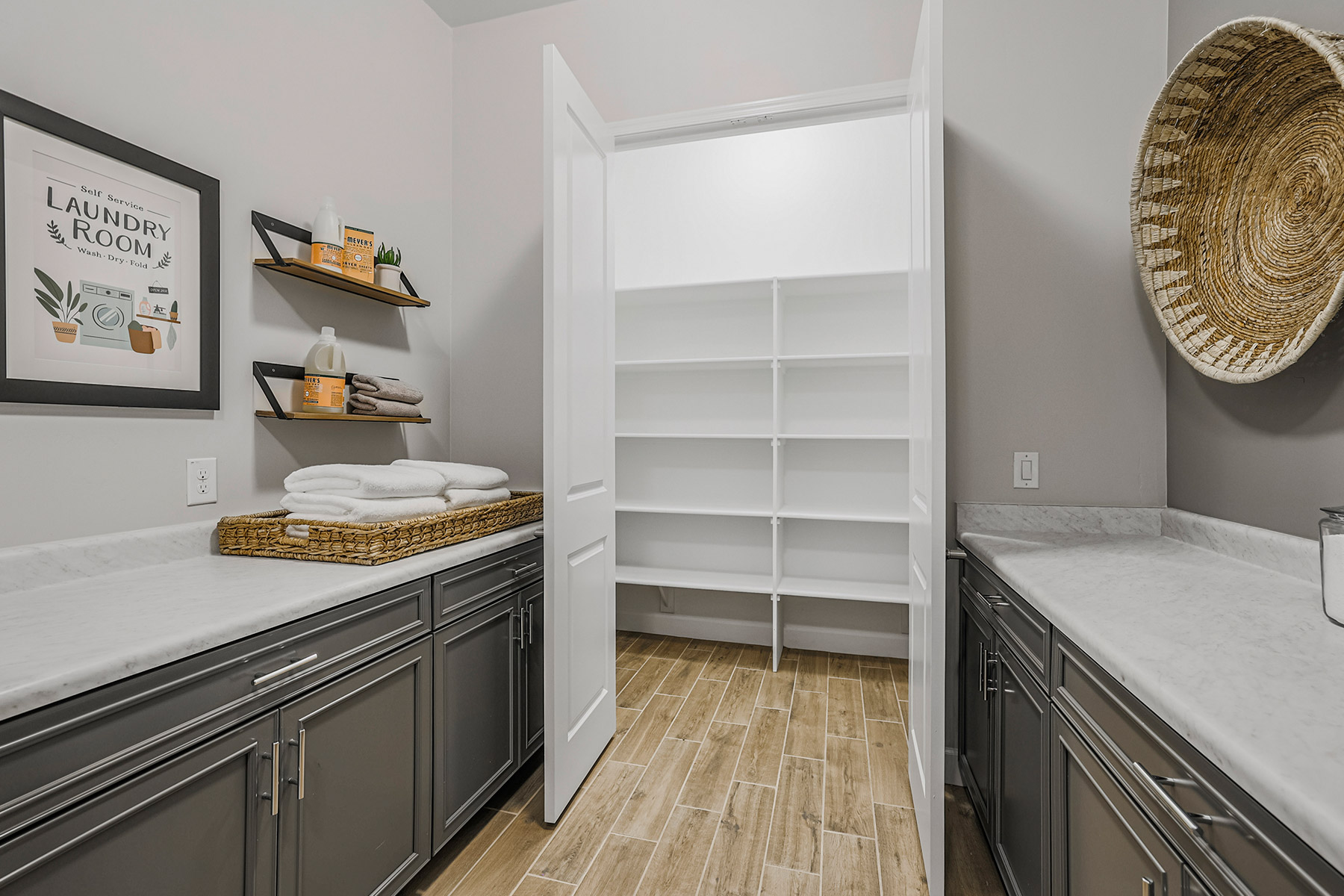 Castleton Plan Pantry at Azure Canyon in Litchfield Park Arizona by Mattamy Homes