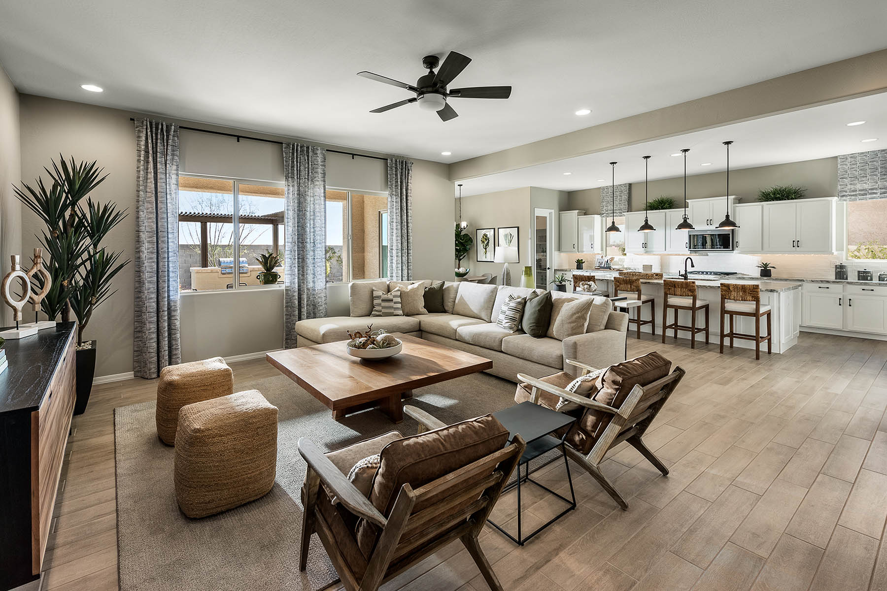 Azure Canyon Greatroom in Litchfield Park Arizona by Mattamy Homes