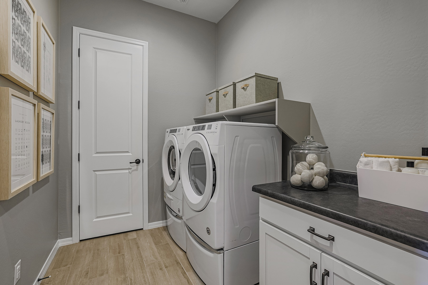 Fairway Plan Laundry at Azure Canyon in Litchfield Park Arizona by Mattamy Homes