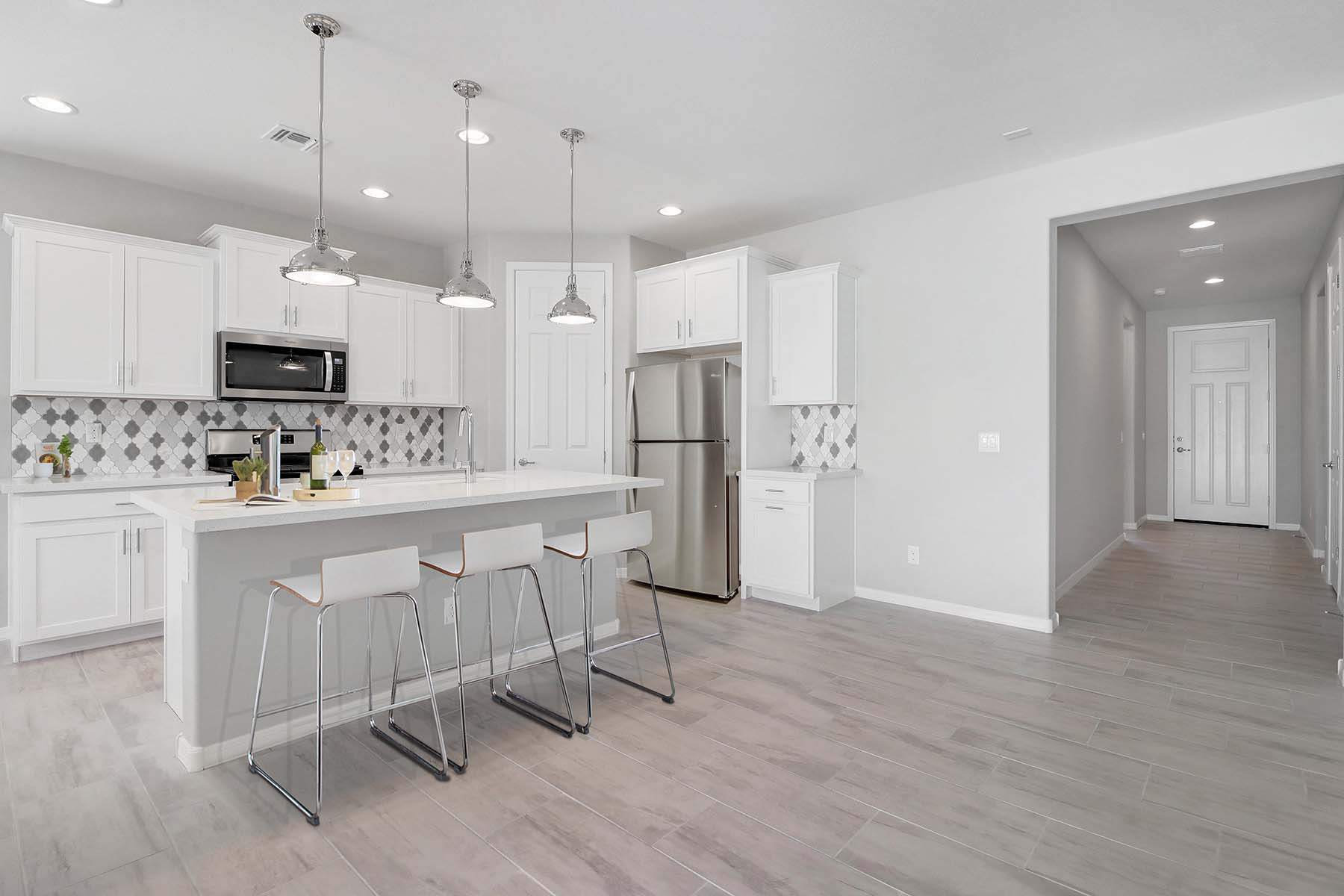 Allendale Plan Kitchen at Brookside at Arroyo Seco in Buckeye Arizona by Mattamy Homes