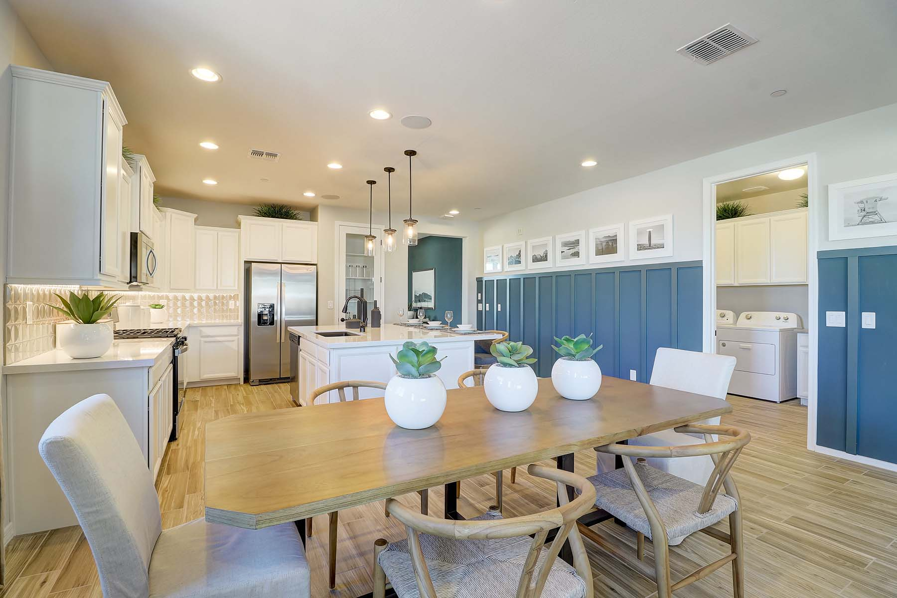 Everly Plan Dining at Brookside at Arroyo Seco in Buckeye Arizona by Mattamy Homes