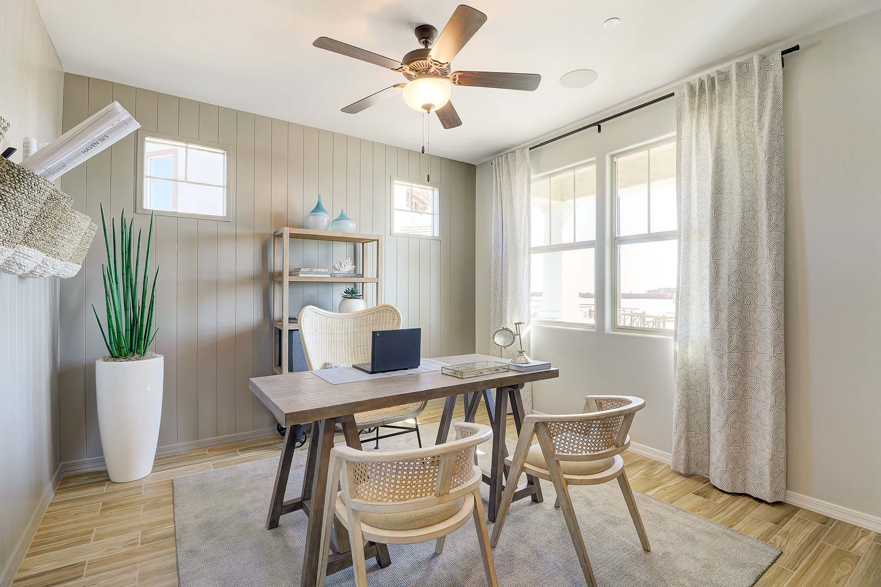 Everly Plan Study Room at Brookside at Arroyo Seco in Buckeye Arizona by Mattamy Homes