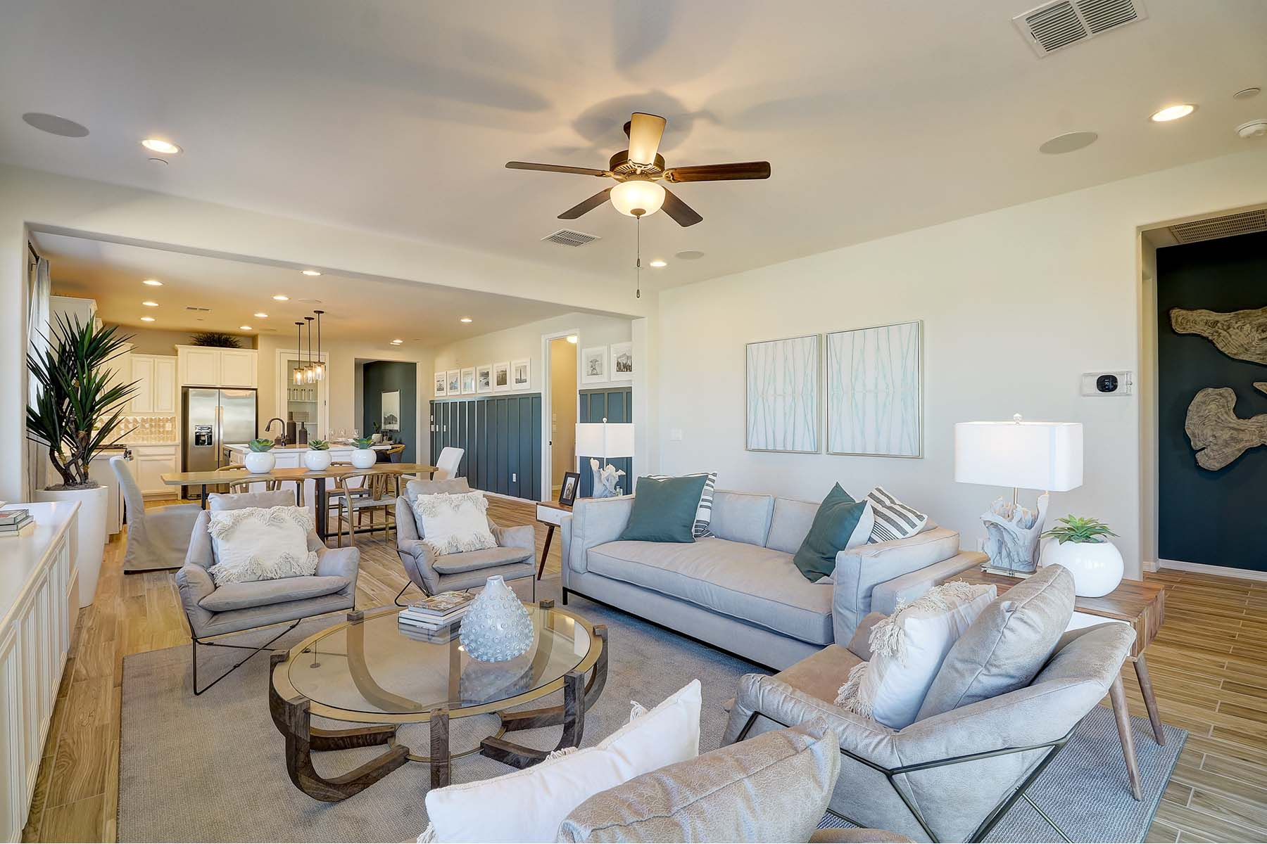 Everly Plan Greatroom at Brookside at Arroyo Seco in Buckeye Arizona by Mattamy Homes