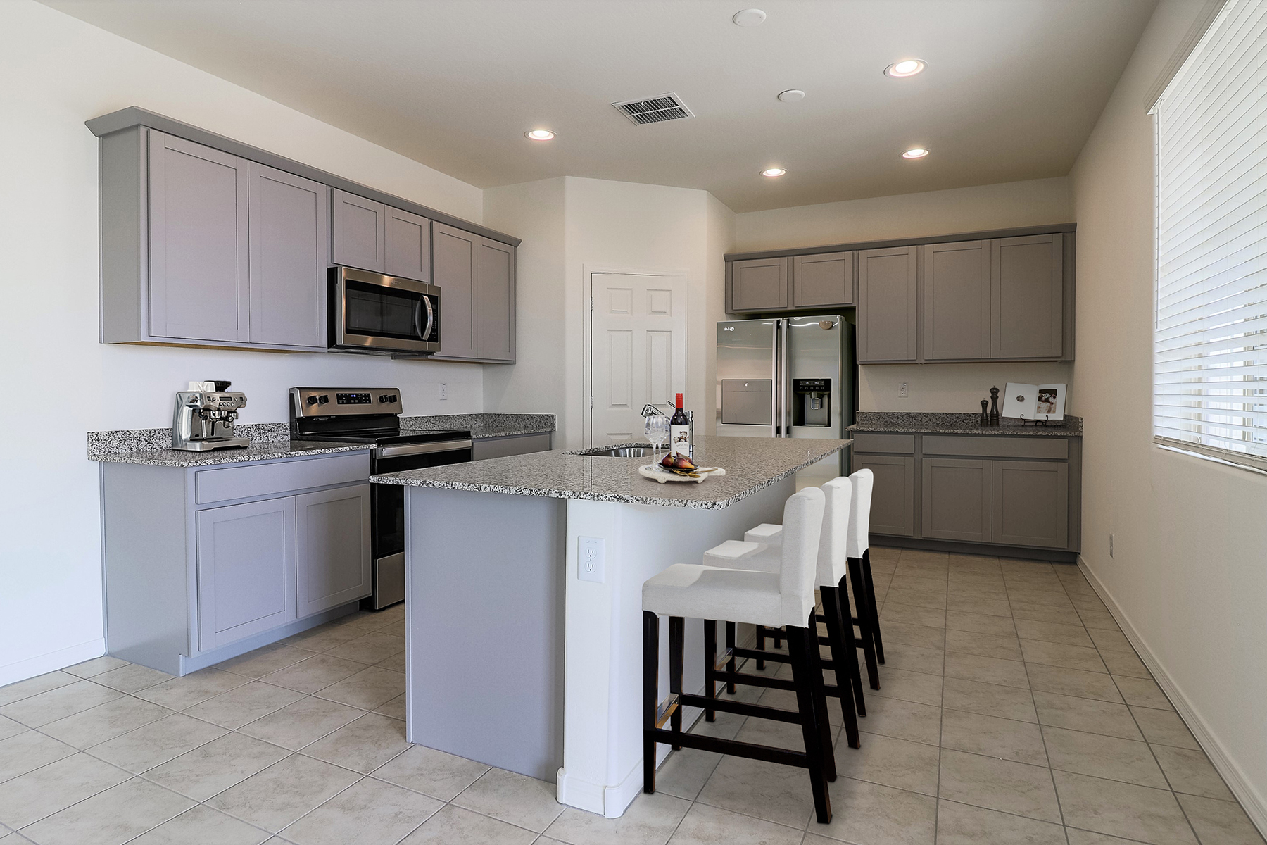 Brookside at Arroyo Seco Kitchen in Buckeye Arizona by Mattamy Homes