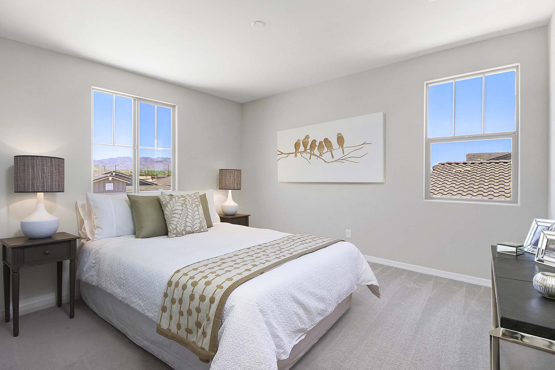 Sunflower Plan Bedroom at Brookside at Arroyo Seco in Buckeye Arizona by Mattamy Homes