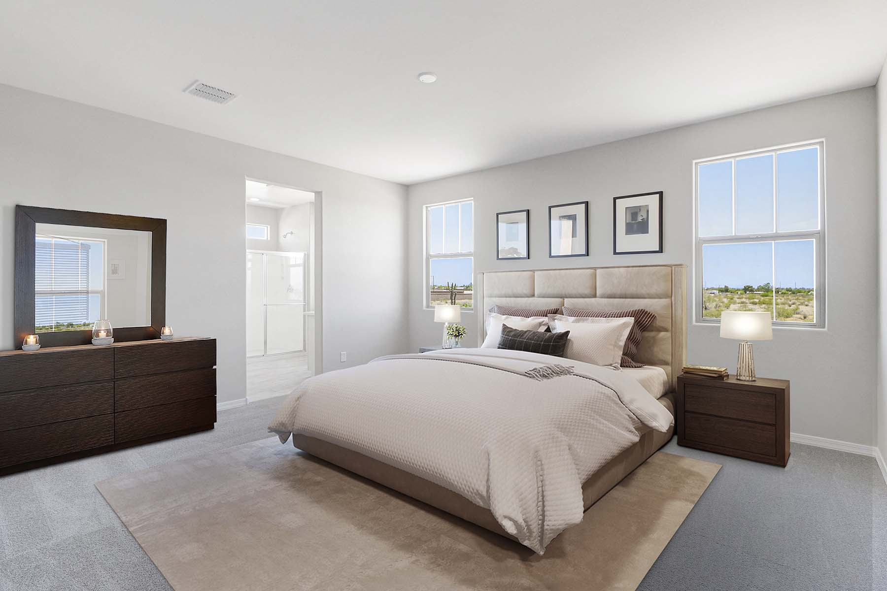 Brookside at Arroyo Seco Bedroom in Buckeye Arizona by Mattamy Homes