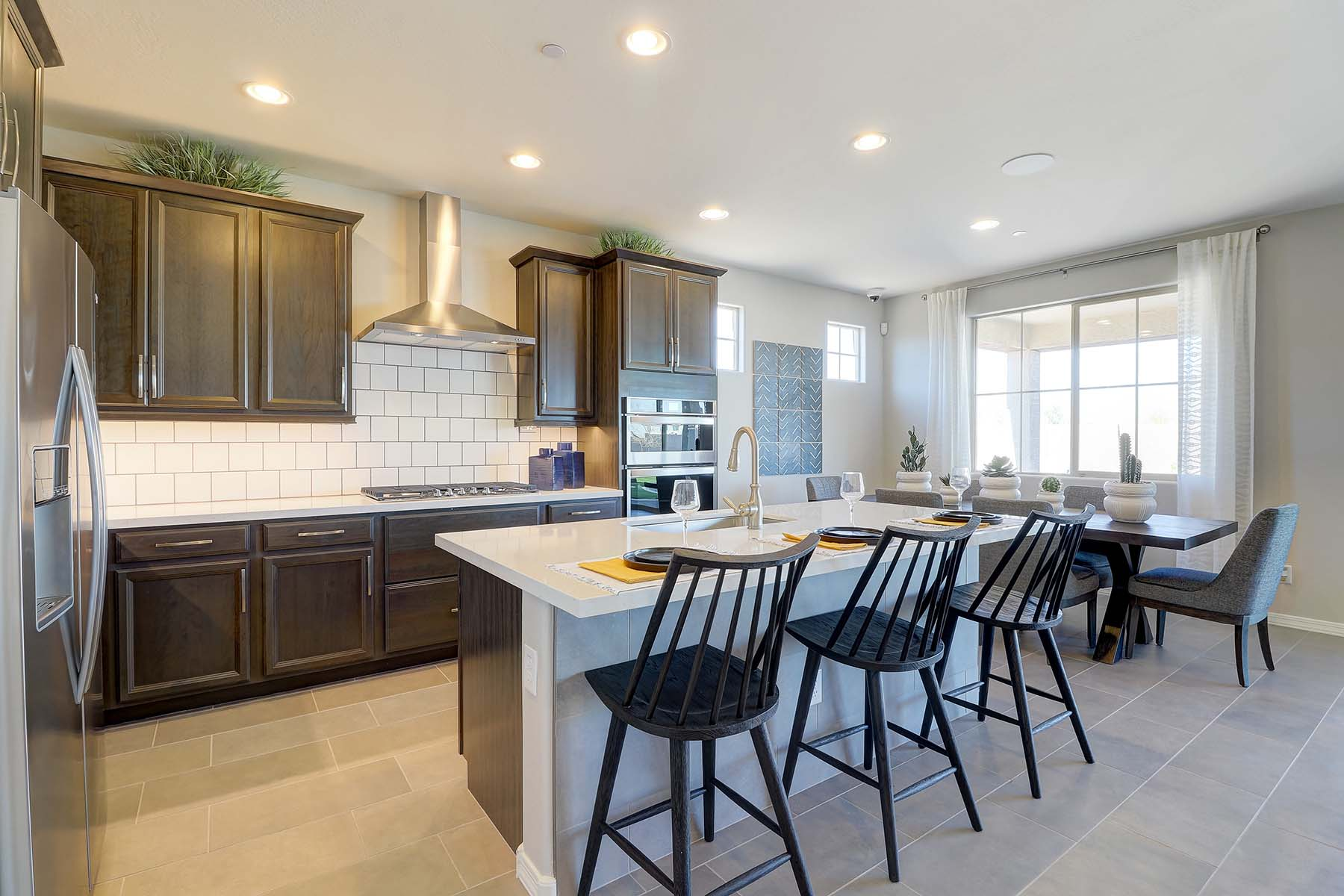 Willowleaf Plan Kitchen at Brookside at Arroyo Seco in Buckeye Arizona by Mattamy Homes