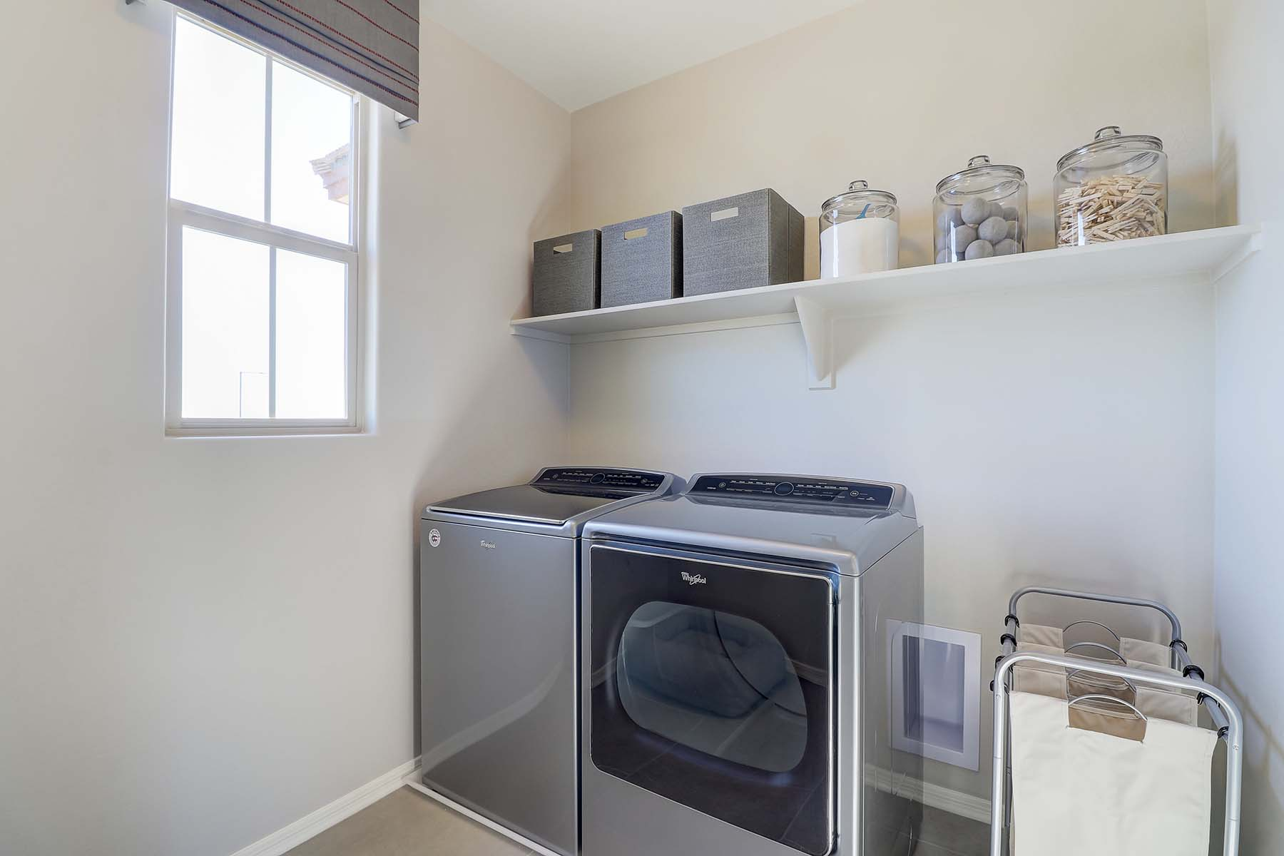 Willowleaf Plan Laundry at Brookside at Arroyo Seco in Buckeye Arizona by Mattamy Homes
