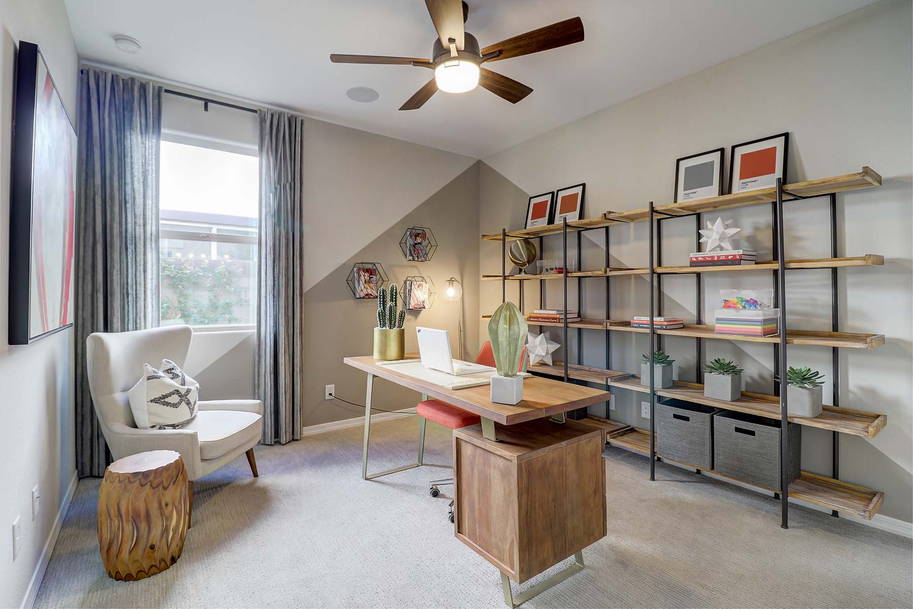 Elwood Plan Study Room at Crestwood at Canyon Trails in Goodyear Arizona by Mattamy Homes