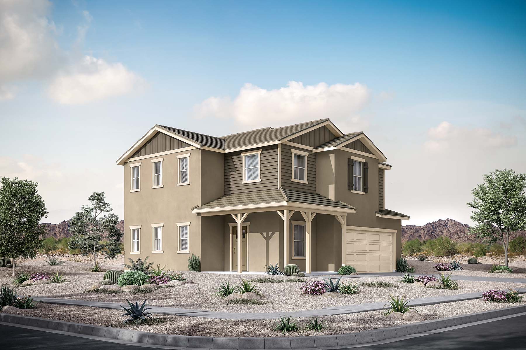 Broadmore Plan  at Roosevelt Park in Avondale Arizona by Mattamy Homes