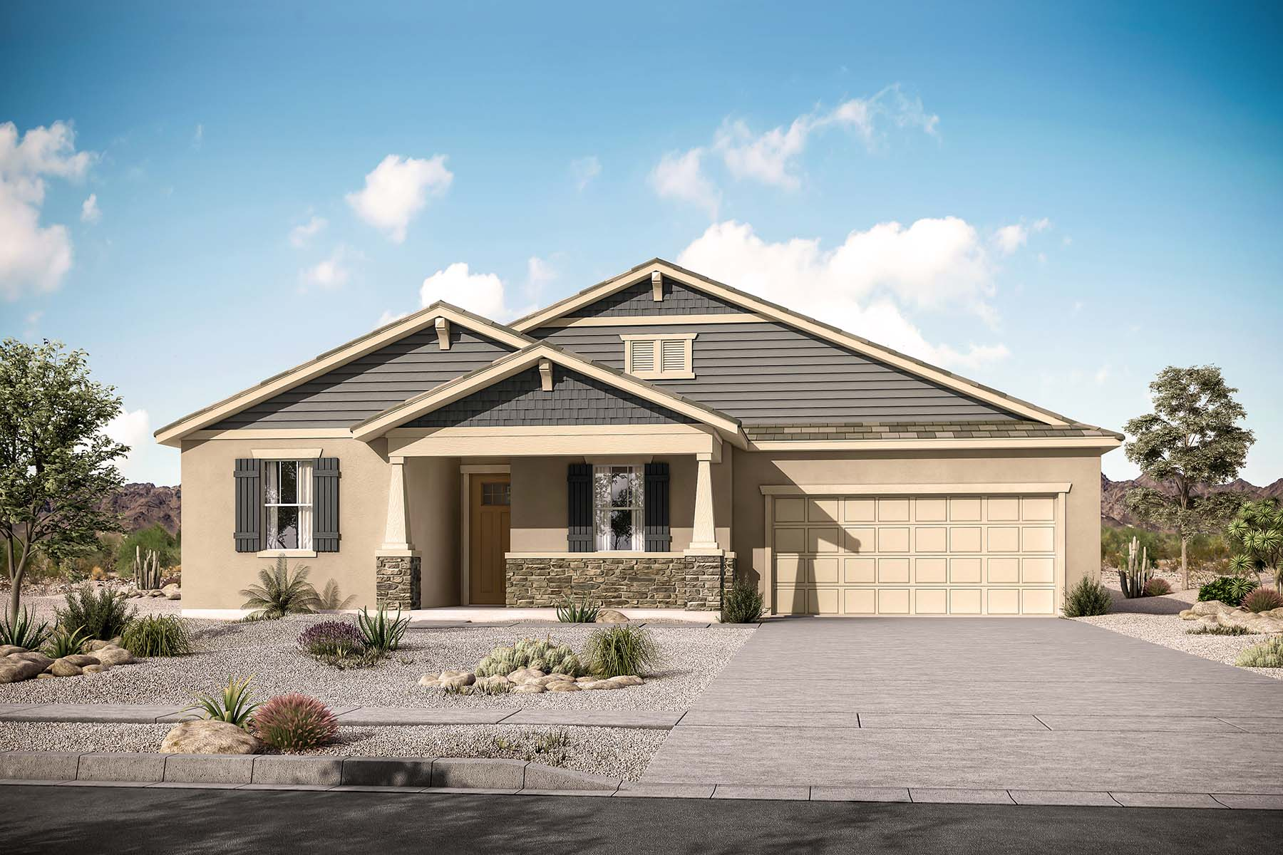 Kensington Plan  at Roosevelt Park in Avondale Arizona by Mattamy Homes