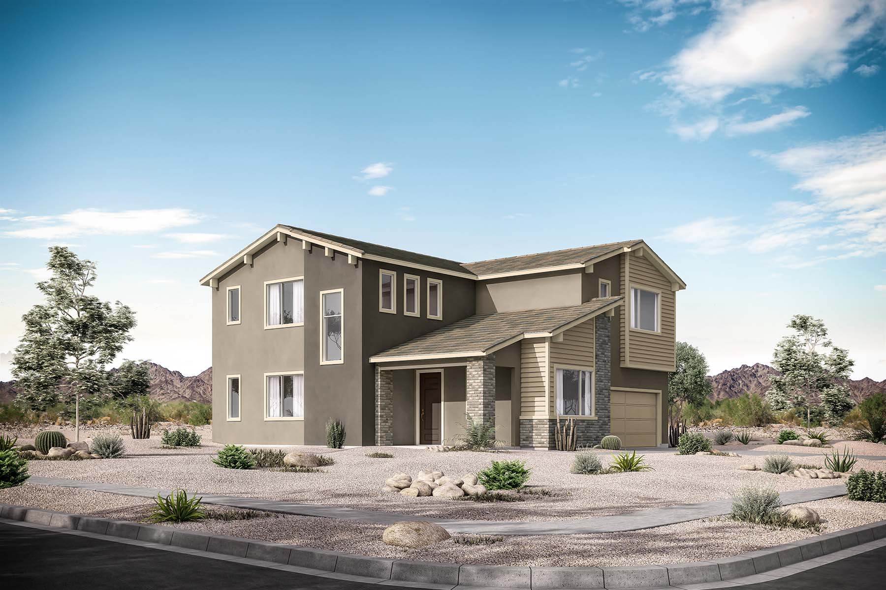 Tisdale Plan  at Roosevelt Park in Avondale Arizona by Mattamy Homes