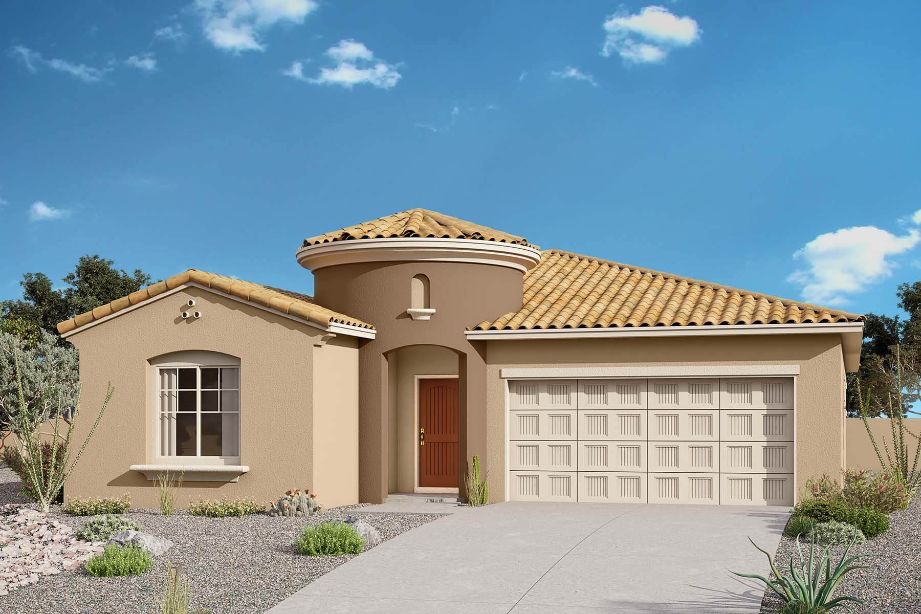 Joslin Plan Elevation Front at Solano at Sienna Hills in Buckeye Arizona by Mattamy Homes