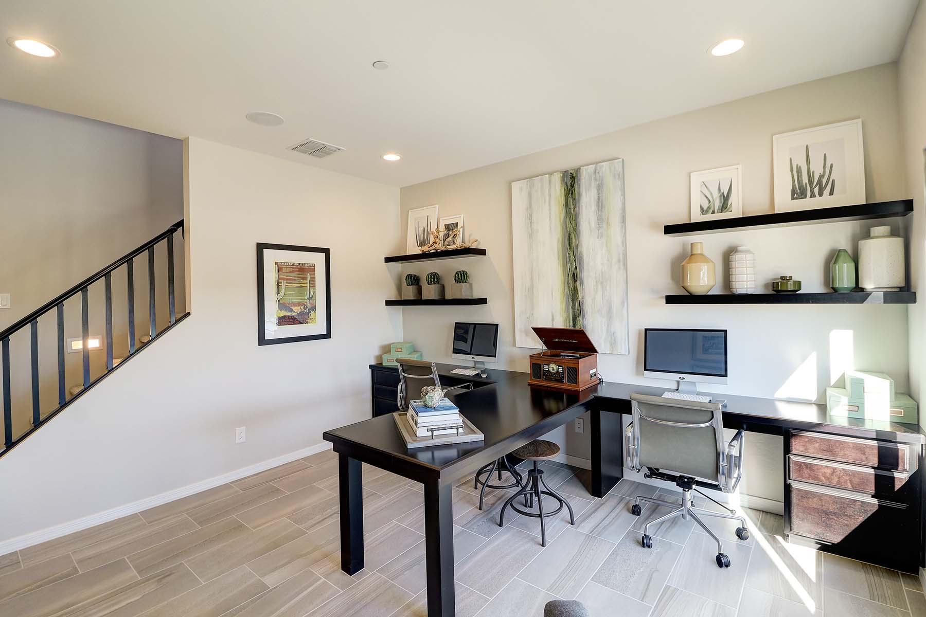Watson Plan Study Room at Solano at Sienna Hills in Buckeye Arizona by Mattamy Homes