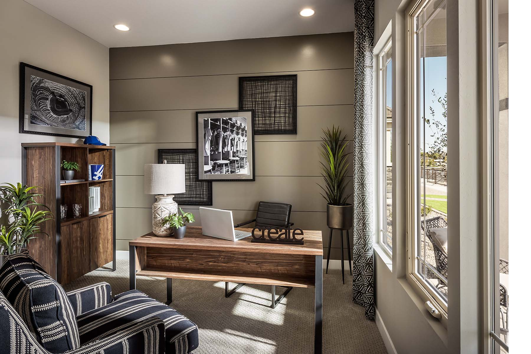 Bellwood Plan Study Room at Vista Diamante at Camelback Ranch in Phoenix Arizona by Mattamy Homes
