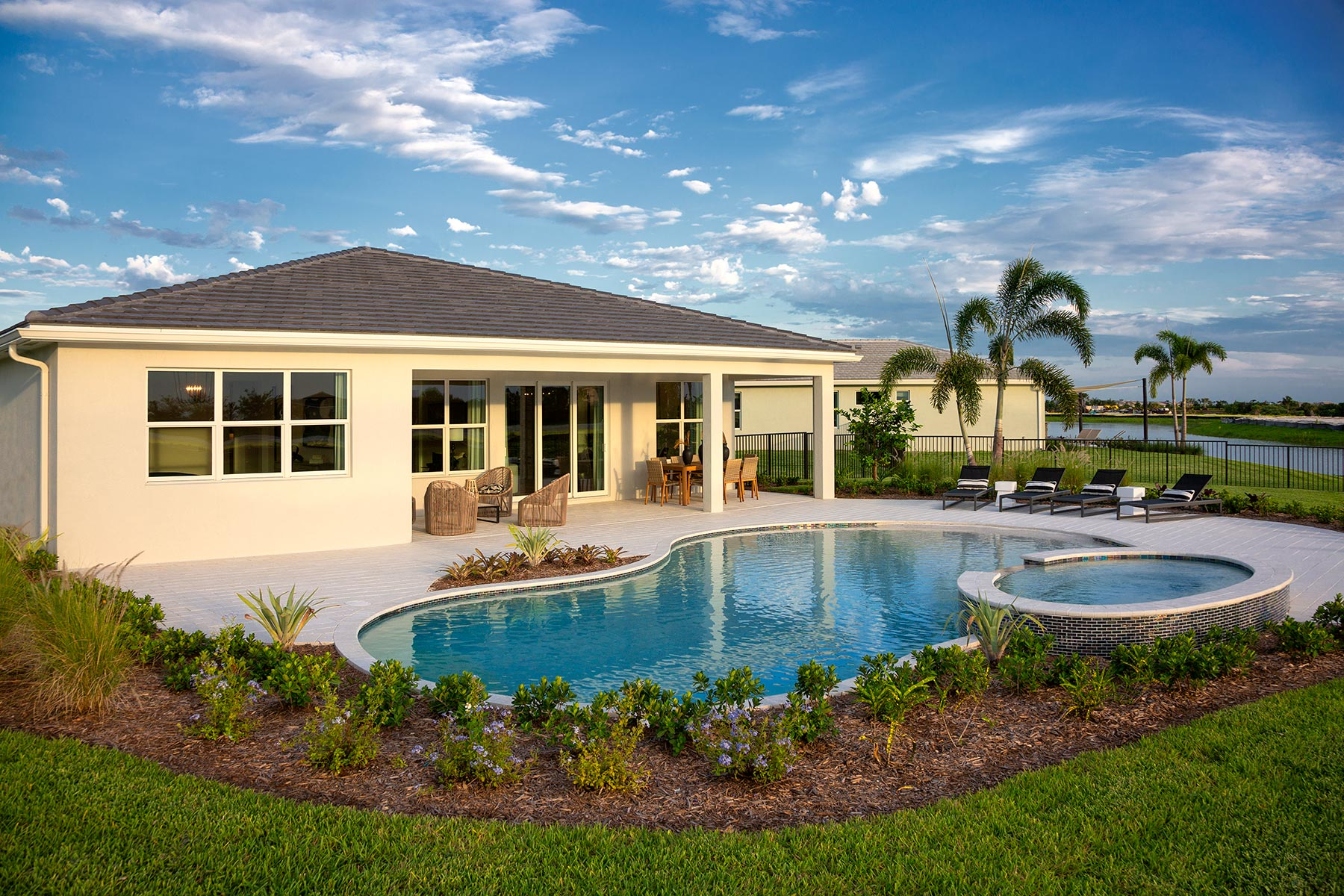Tradition - Manderlie WaterFeatures in Port St. Lucie Florida by Mattamy Homes
