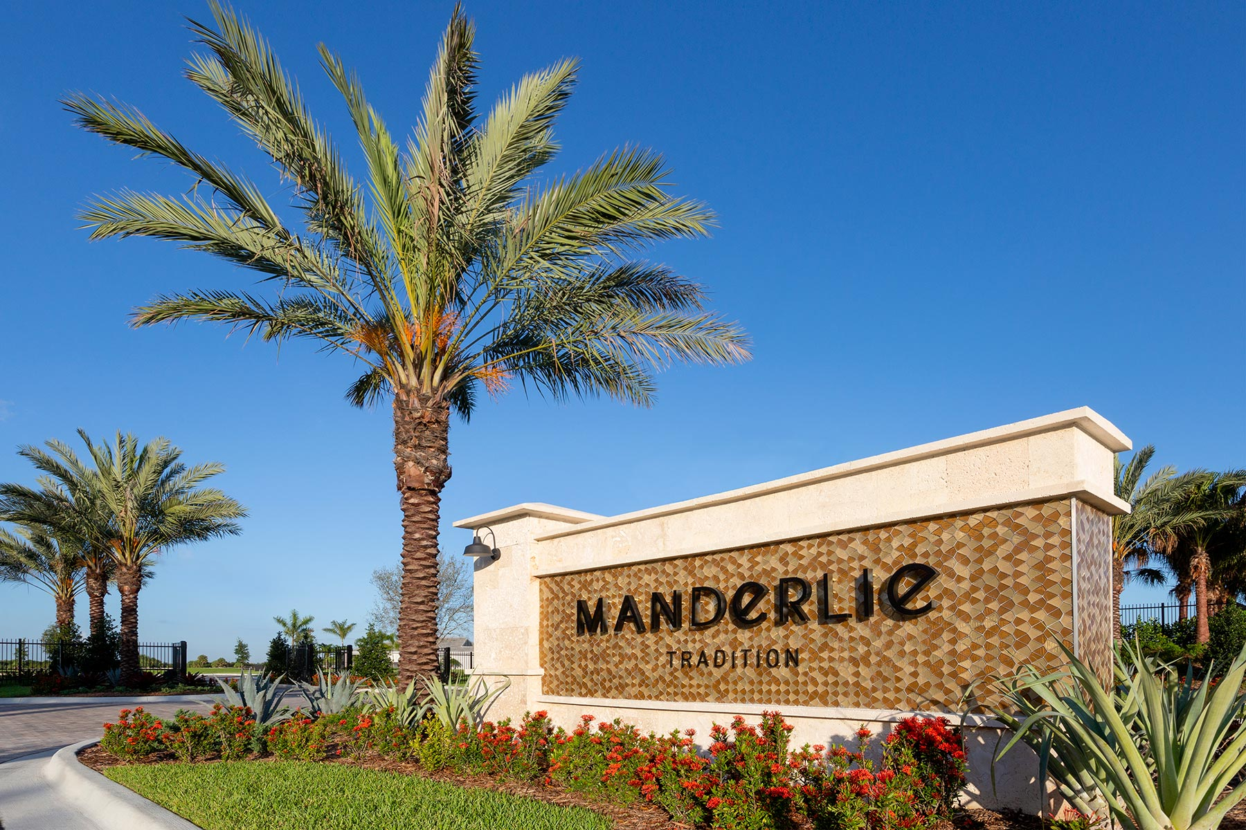 Tradition - Manderlie Monument in Port St. Lucie Florida by Mattamy Homes