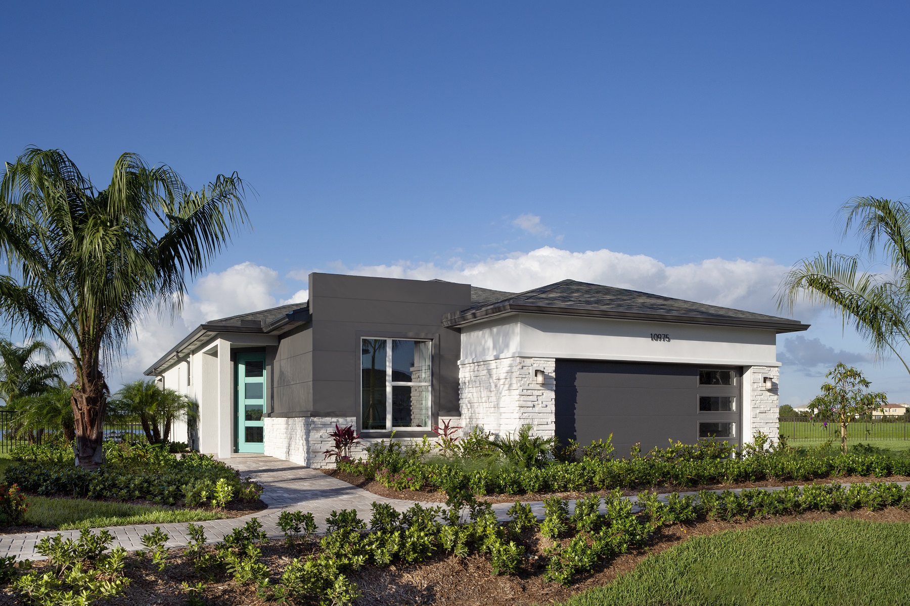 Aspen Plan Elevation Front at Tradition - Manderlie in Port St. Lucie Florida by Mattamy Homes