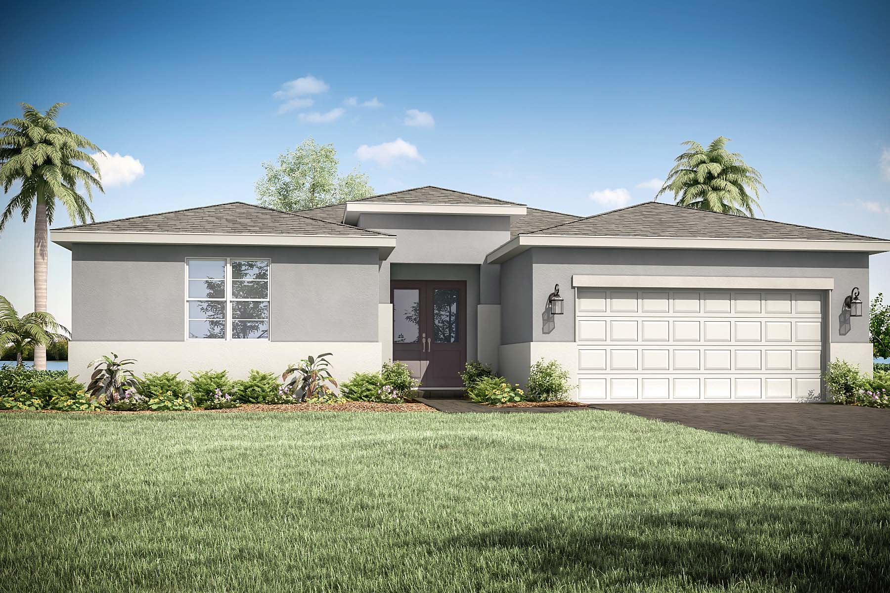Tradition - Manderlie Elevation Front in Port St. Lucie Florida by Mattamy Homes
