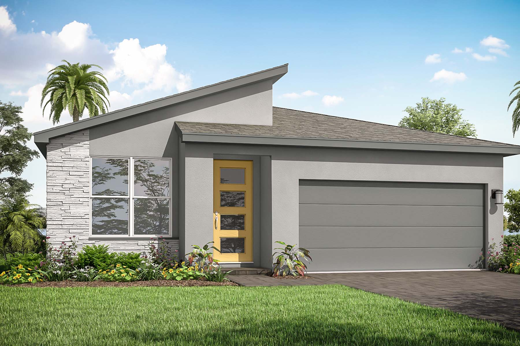 Briar Plan Elevation Front at Tradition - Manderlie in Port St. Lucie Florida by Mattamy Homes
