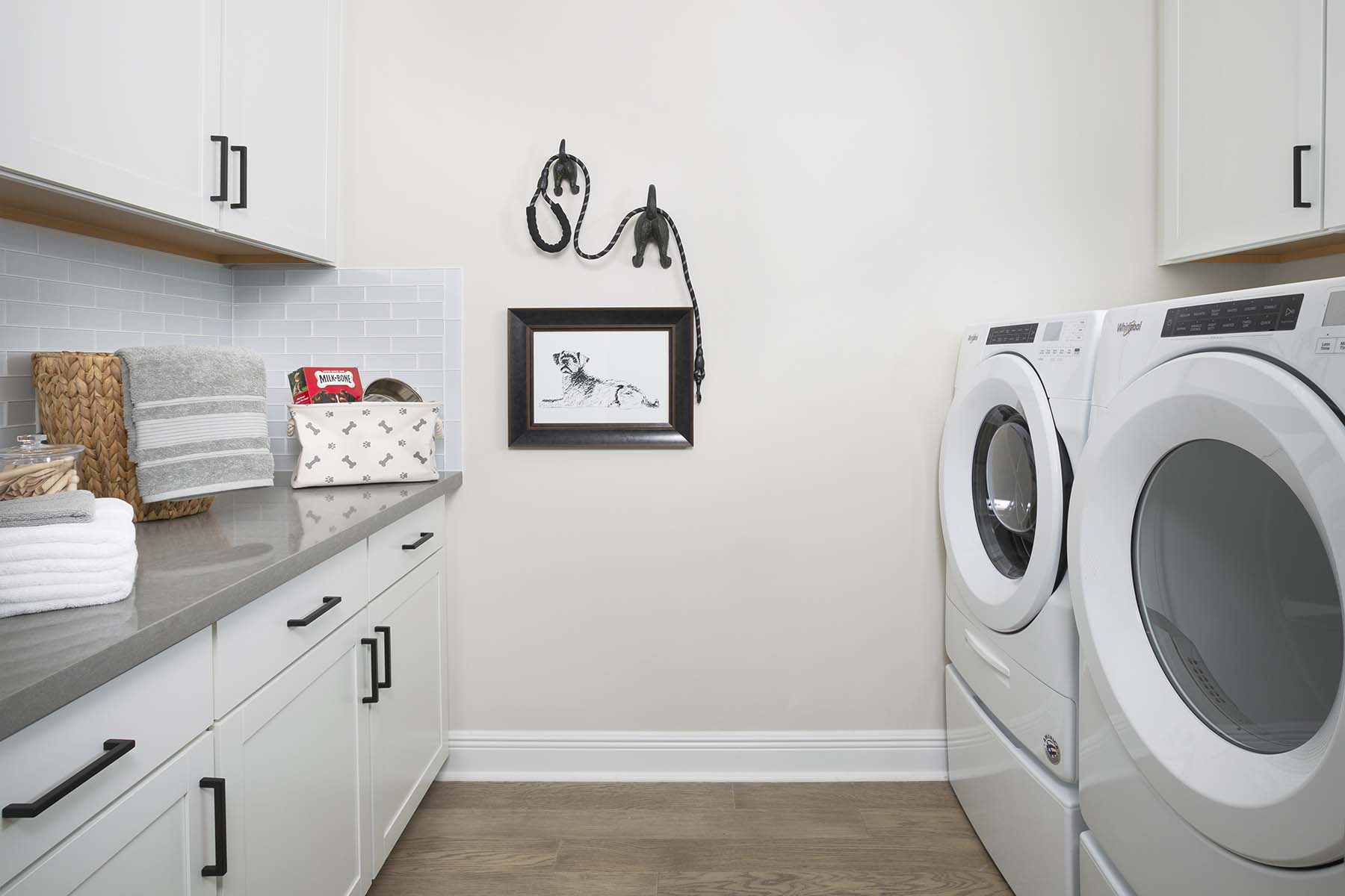Briar Plan Laundry at Tradition - Manderlie in Port St. Lucie Florida by Mattamy Homes