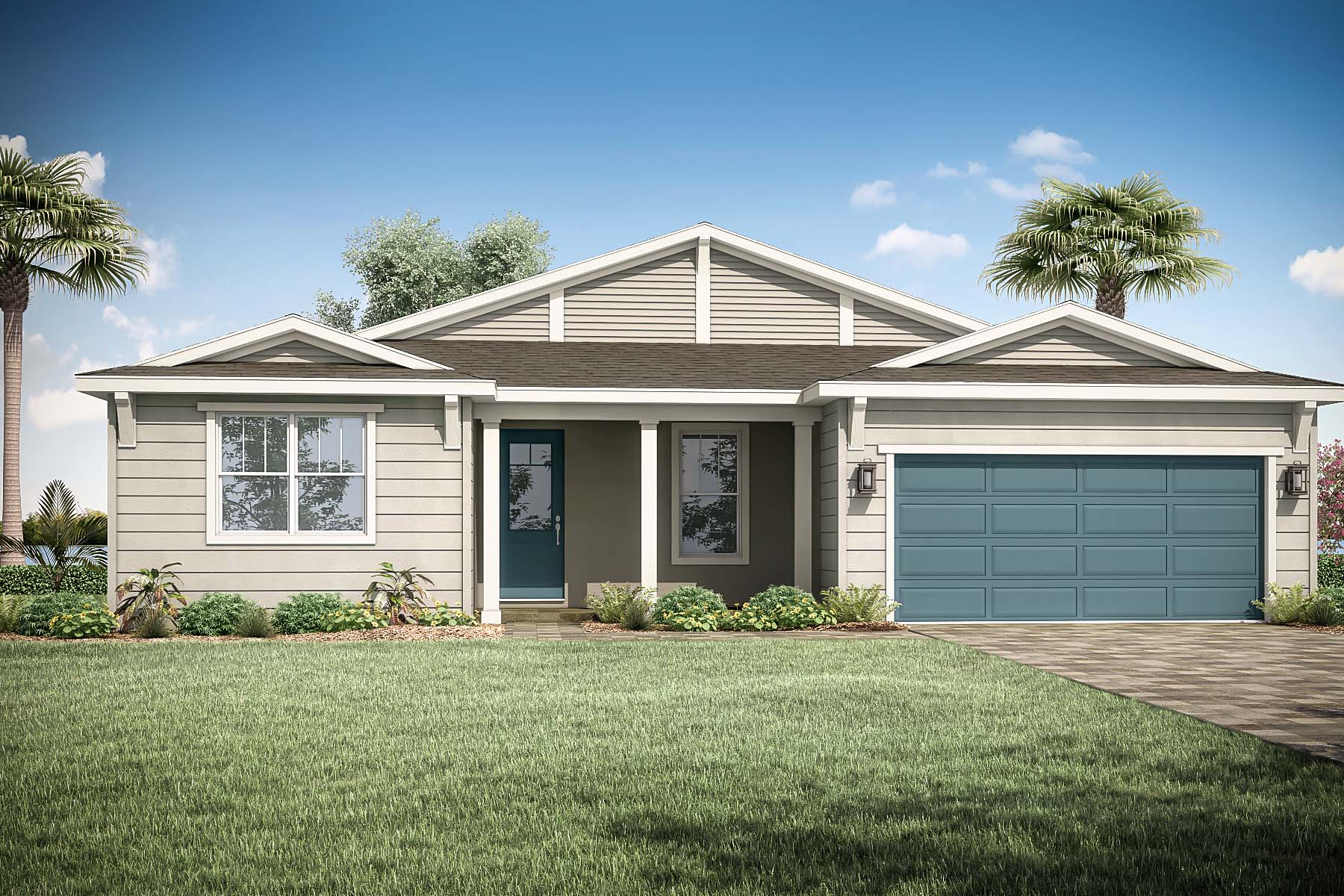 Citron Plan Elevation Front at Tradition - Manderlie in Port St. Lucie Florida by Mattamy Homes