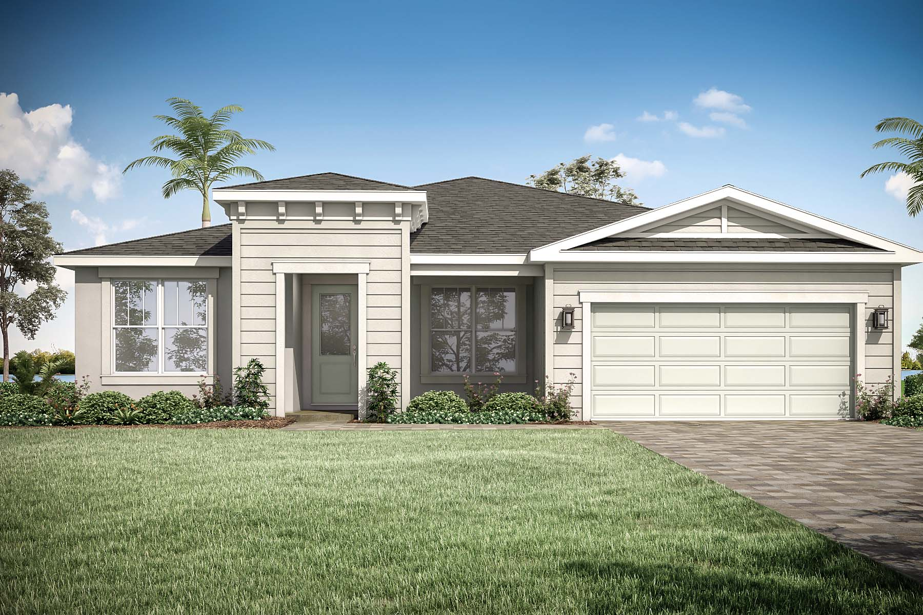 Dahlia Plan Elevation Front at Tradition - Manderlie in Port St. Lucie Florida by Mattamy Homes