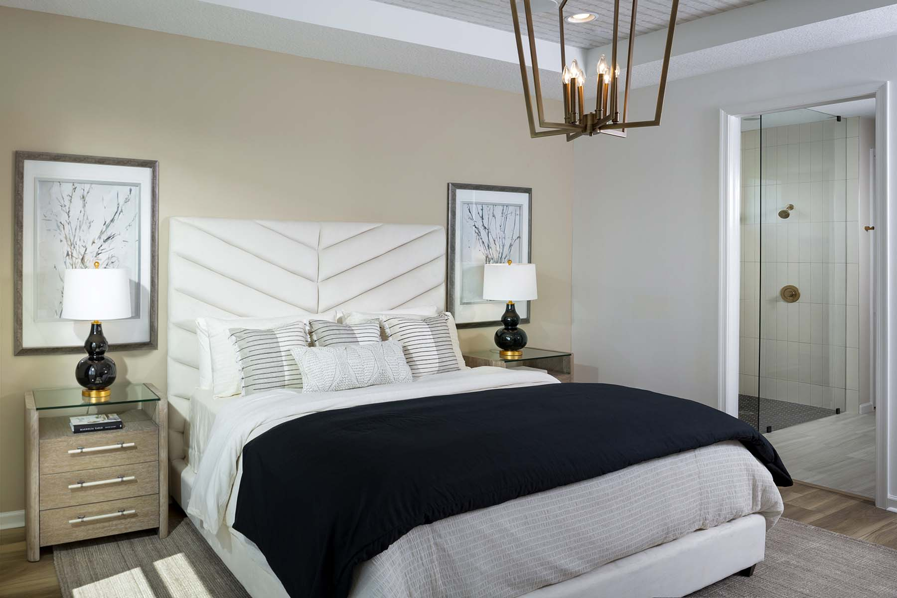 Dahlia Plan Bedroom at Tradition - Manderlie in Port St. Lucie Florida by Mattamy Homes