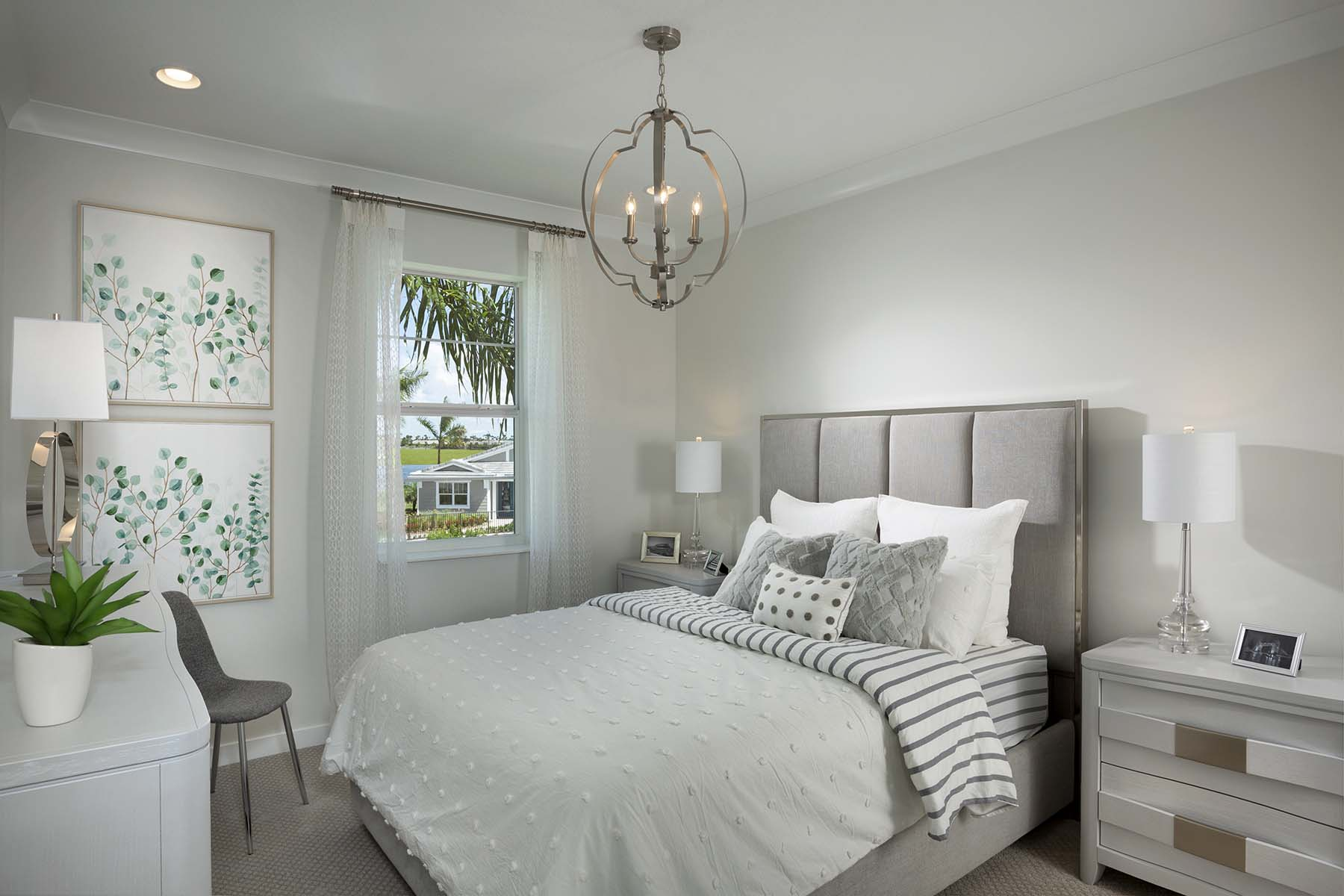 Rowan Plan Bedroom at Tradition - Manderlie in Port St. Lucie Florida by Mattamy Homes