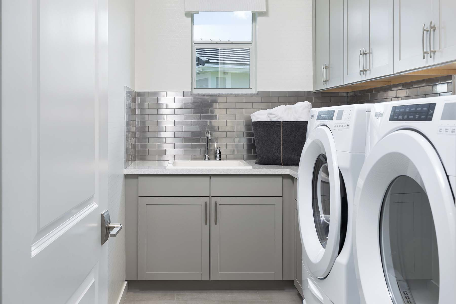 Rowan Plan Laundry at Tradition - Manderlie in Port St. Lucie Florida by Mattamy Homes