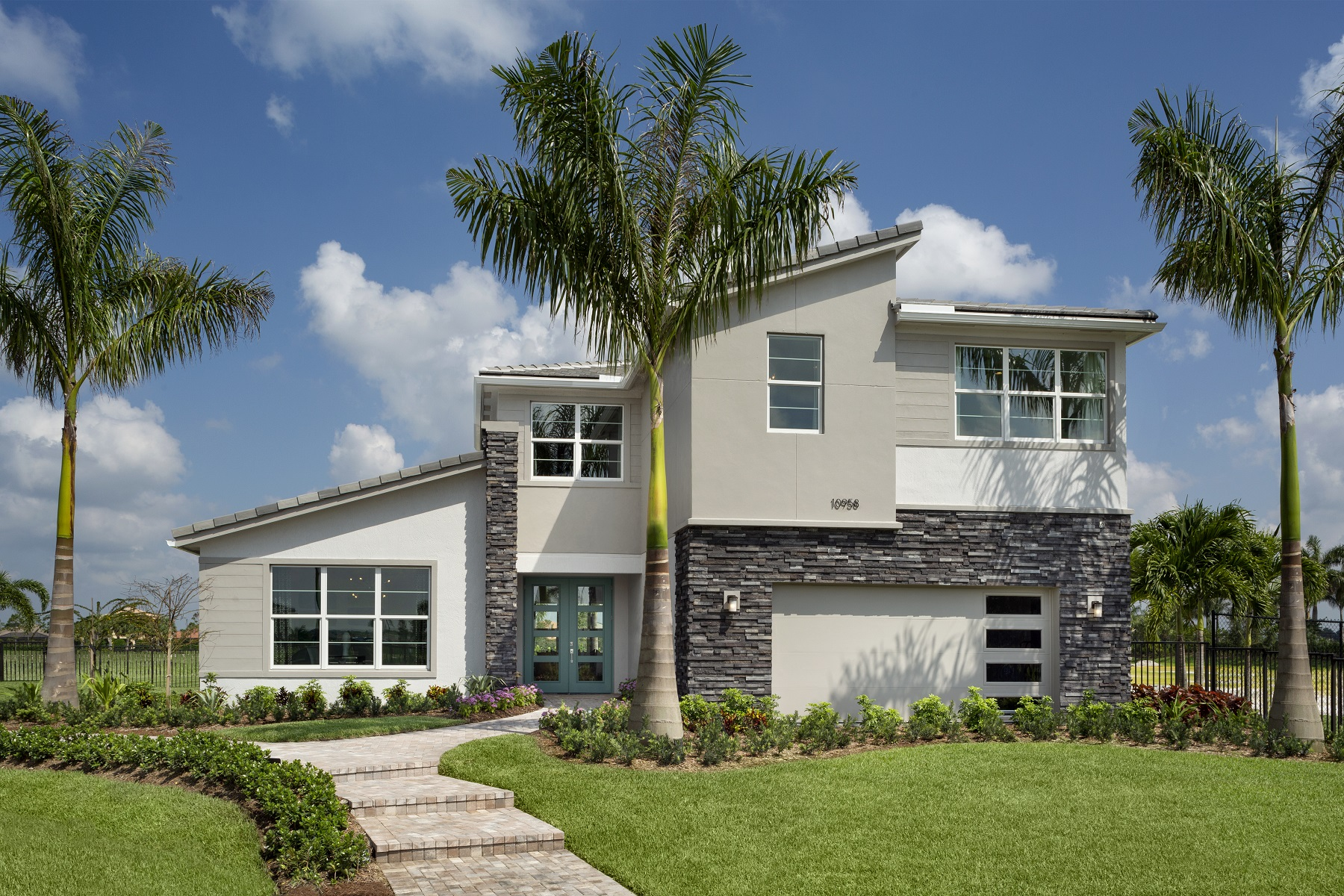 Rowan Plan Elevation Front at Tradition - Manderlie in Port St. Lucie Florida by Mattamy Homes