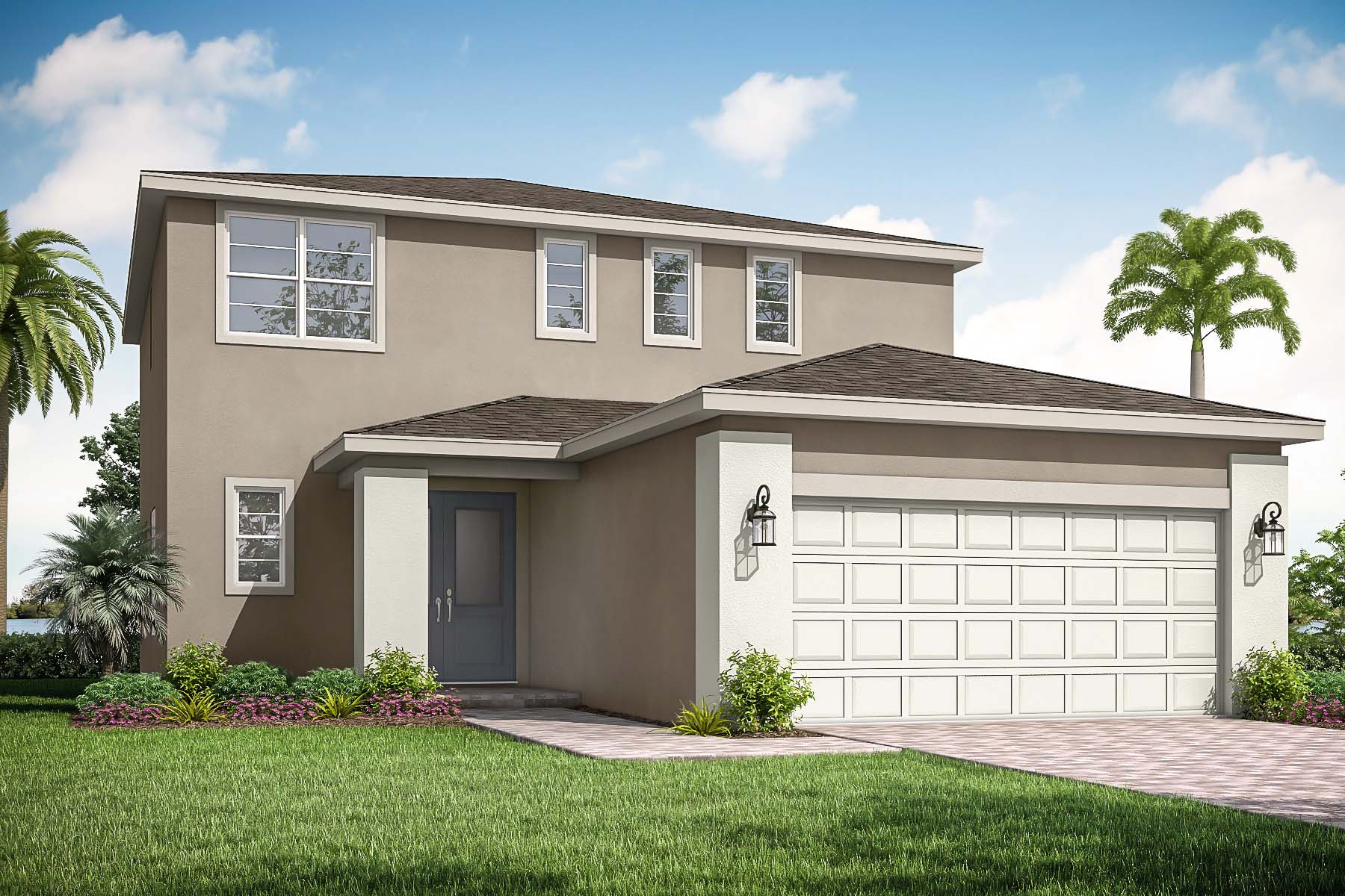 Yarrow Plan Elevation Front at Tradition - Manderlie in Port St. Lucie Florida by Mattamy Homes