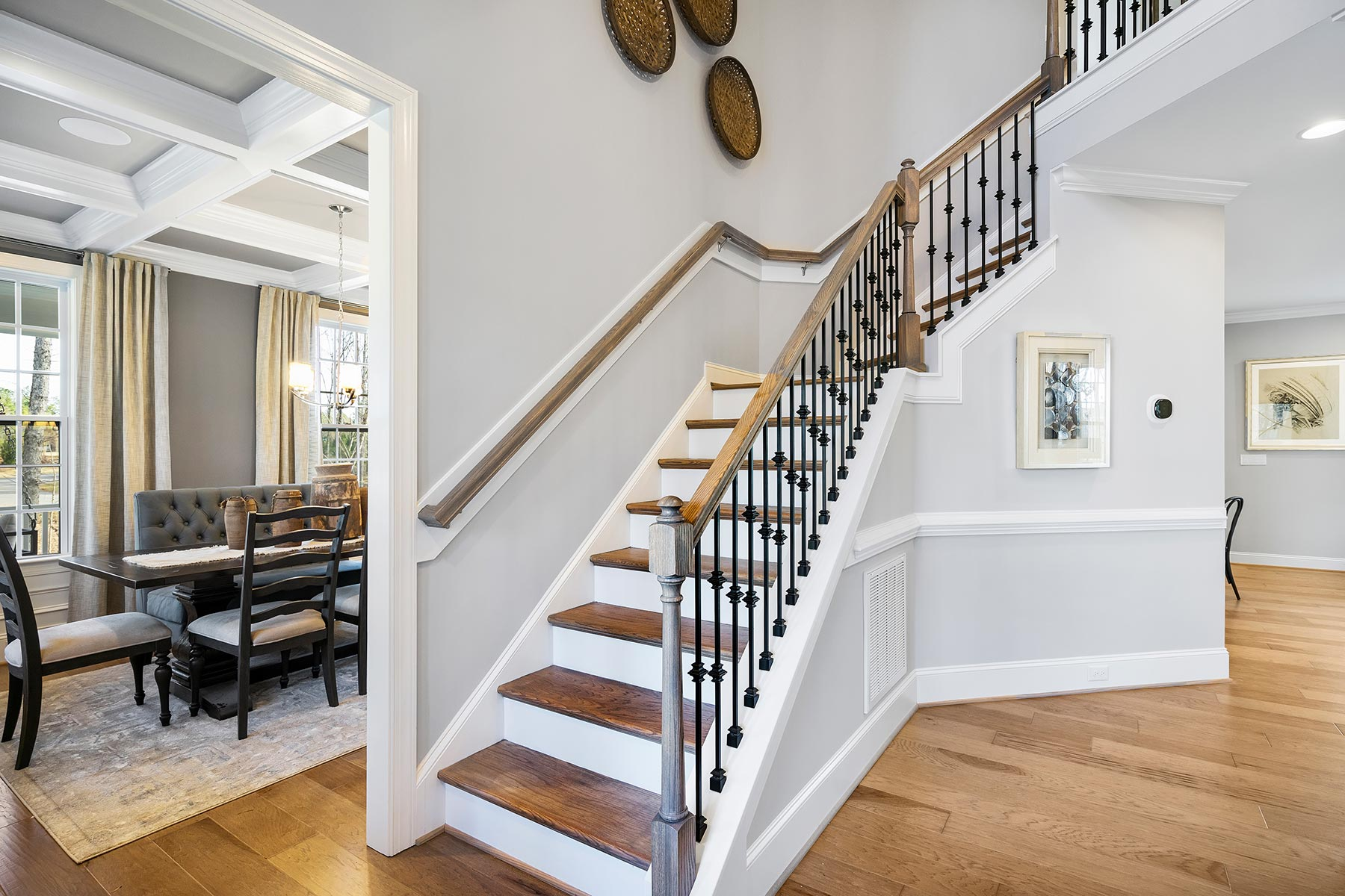 Ballentine Place Stairs in Holly Springs North Carolina by Mattamy Homes