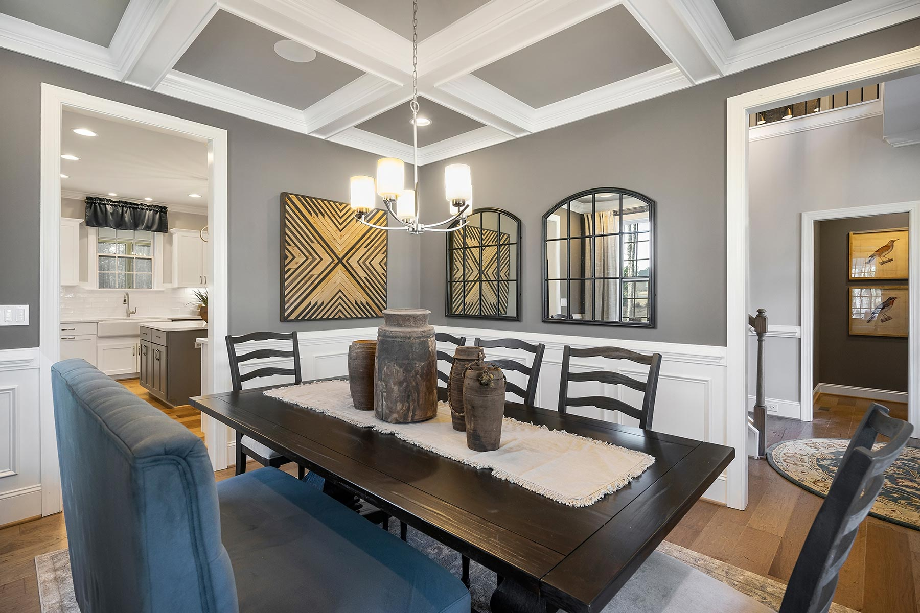 Edenton Plan Dining at Ballentine Place in Holly Springs North Carolina by Mattamy Homes
