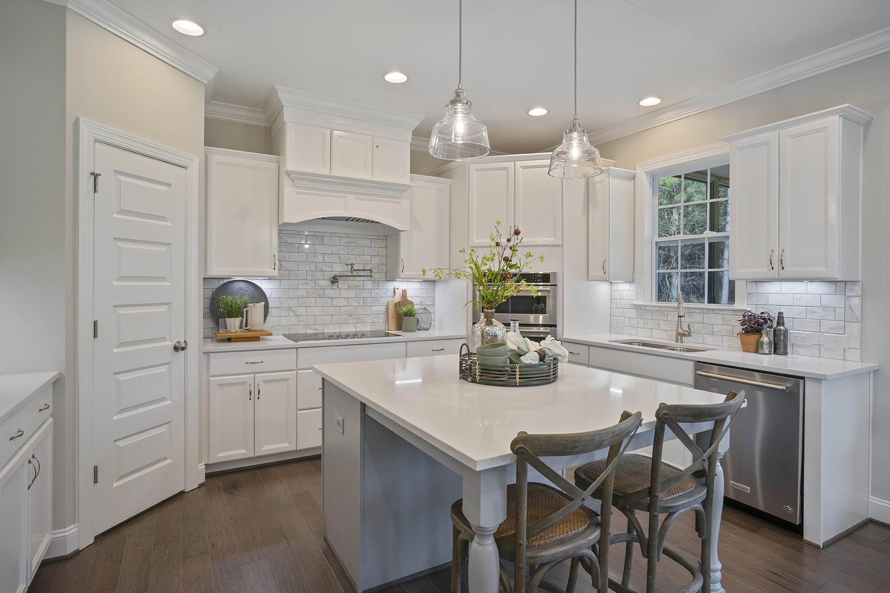 Ballentine Place Kitchen in Holly Springs North Carolina by Mattamy Homes