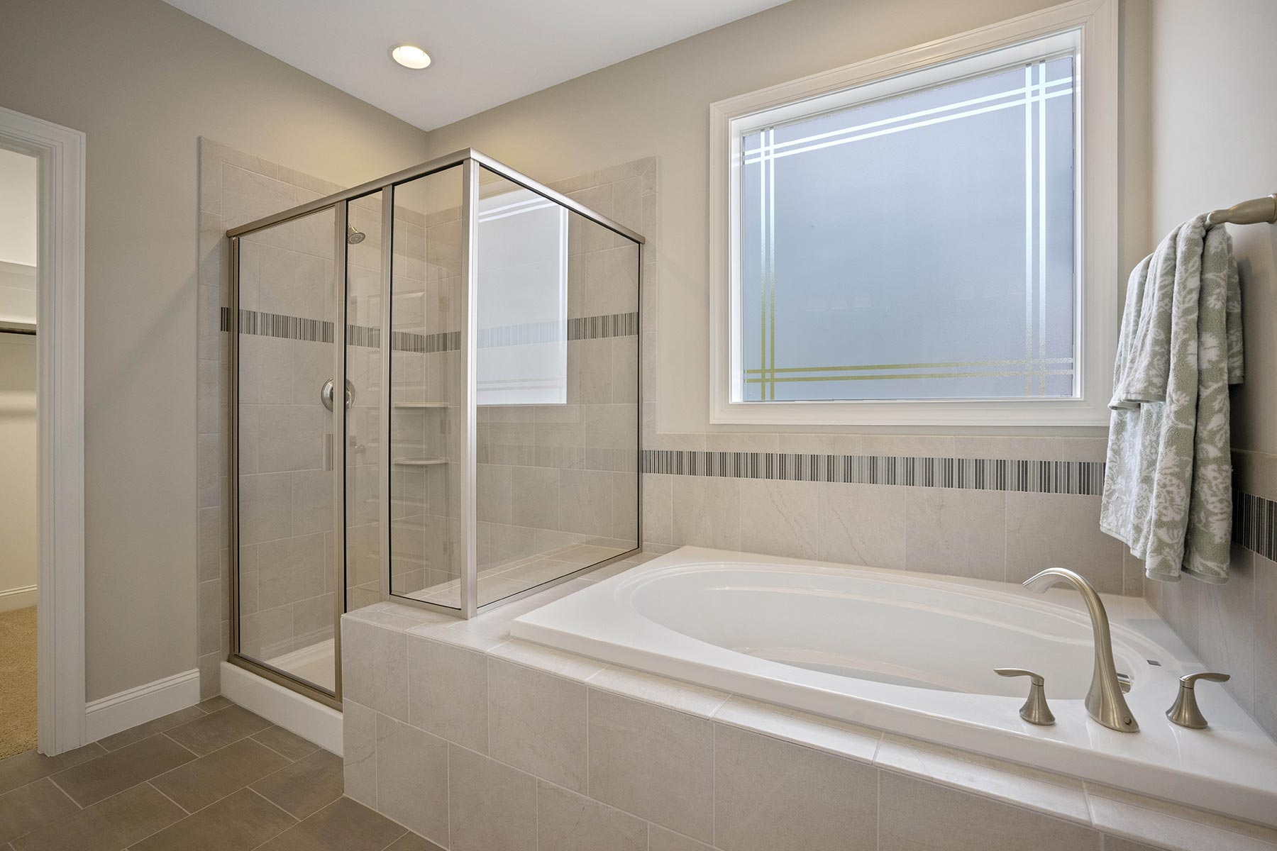 Juniper Plan Bath at Ballentine Place in Holly Springs North Carolina by Mattamy Homes