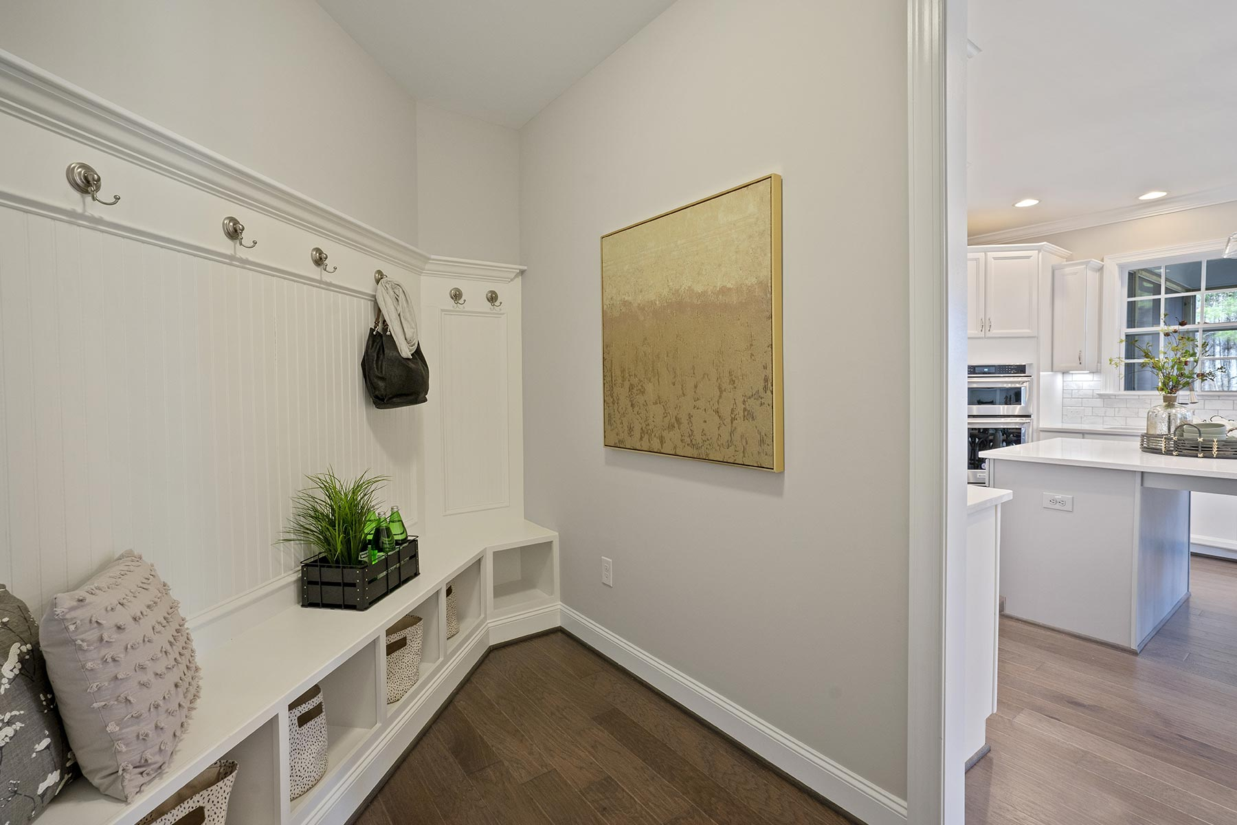 Juniper Plan Dropzone at Ballentine Place in Holly Springs North Carolina by Mattamy Homes