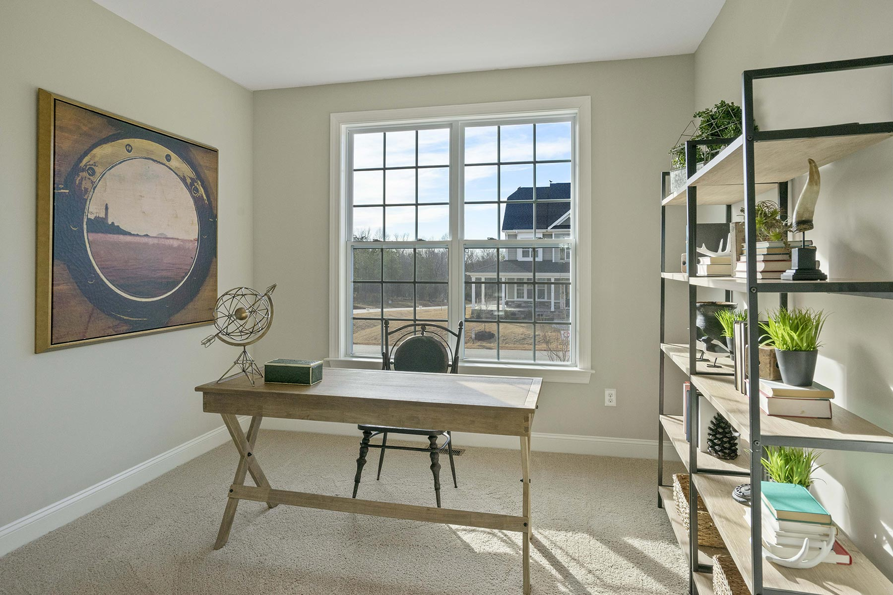 Juniper Plan Study Room at Ballentine Place in Holly Springs North Carolina by Mattamy Homes