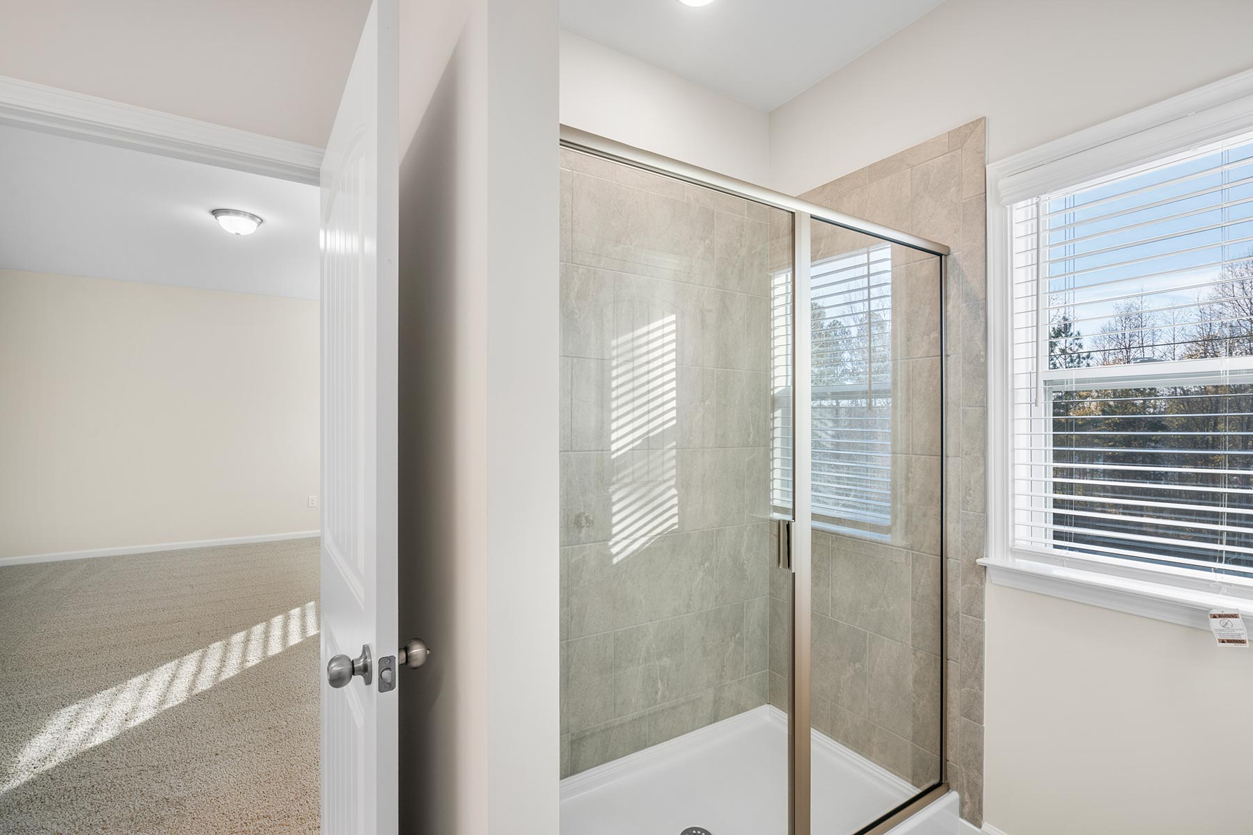 Marshall Plan Bath at Ballentine Place in Holly Springs North Carolina by Mattamy Homes