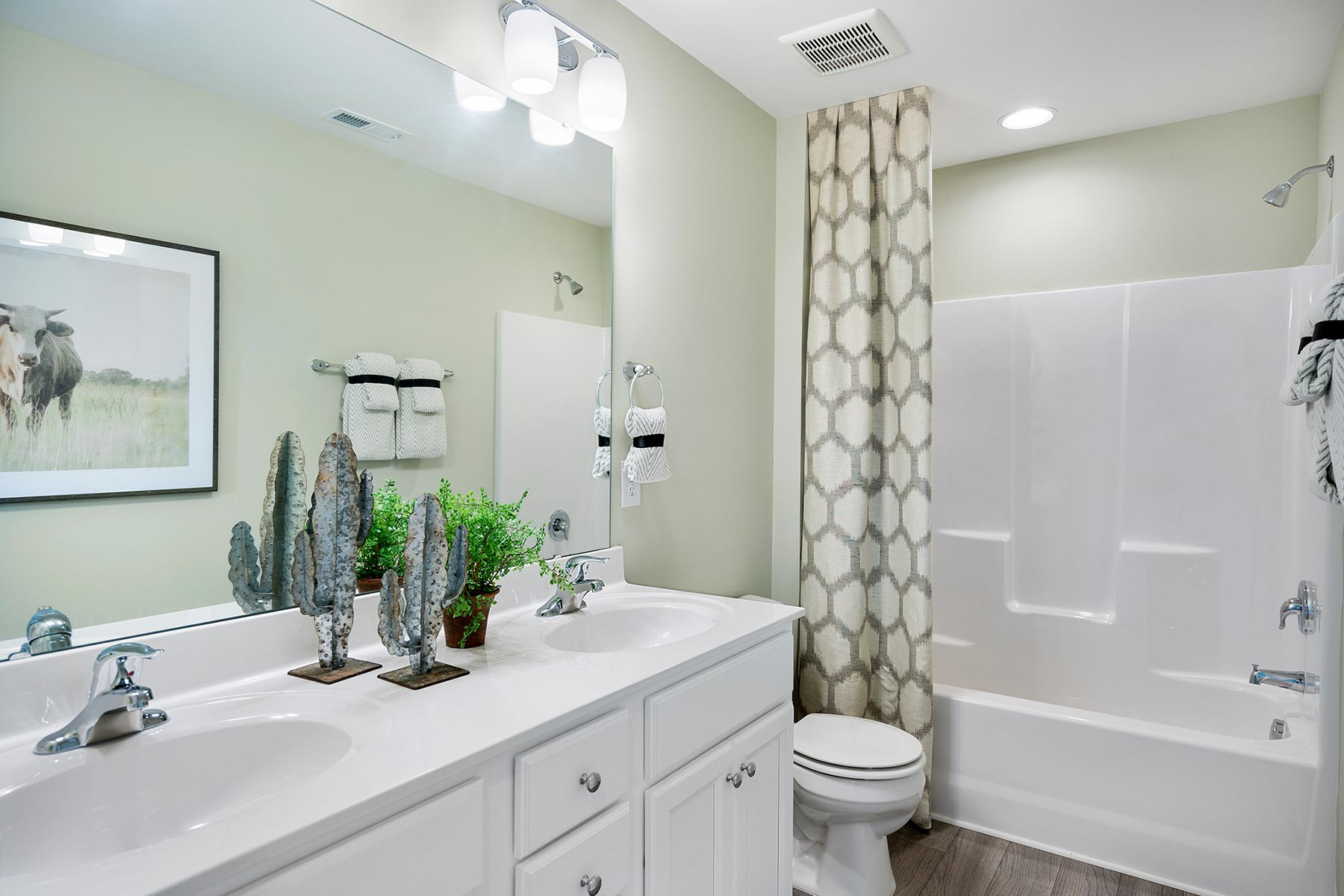 Amelia Plan Bath at Briar Gate in Fuquay-Varina North Carolina by Mattamy Homes