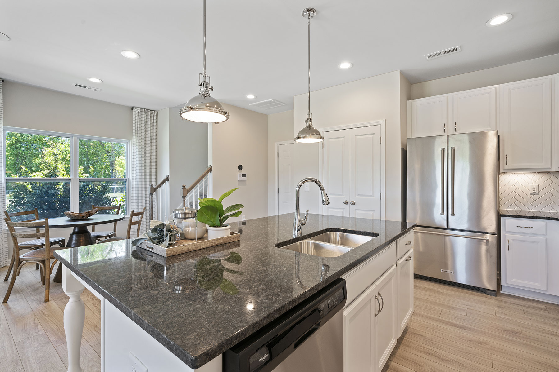 Ansel Plan rdu_the-ansel_btc_kitchen6 at Bengal Townes in Fuquay-Varina North Carolina by Mattamy Homes