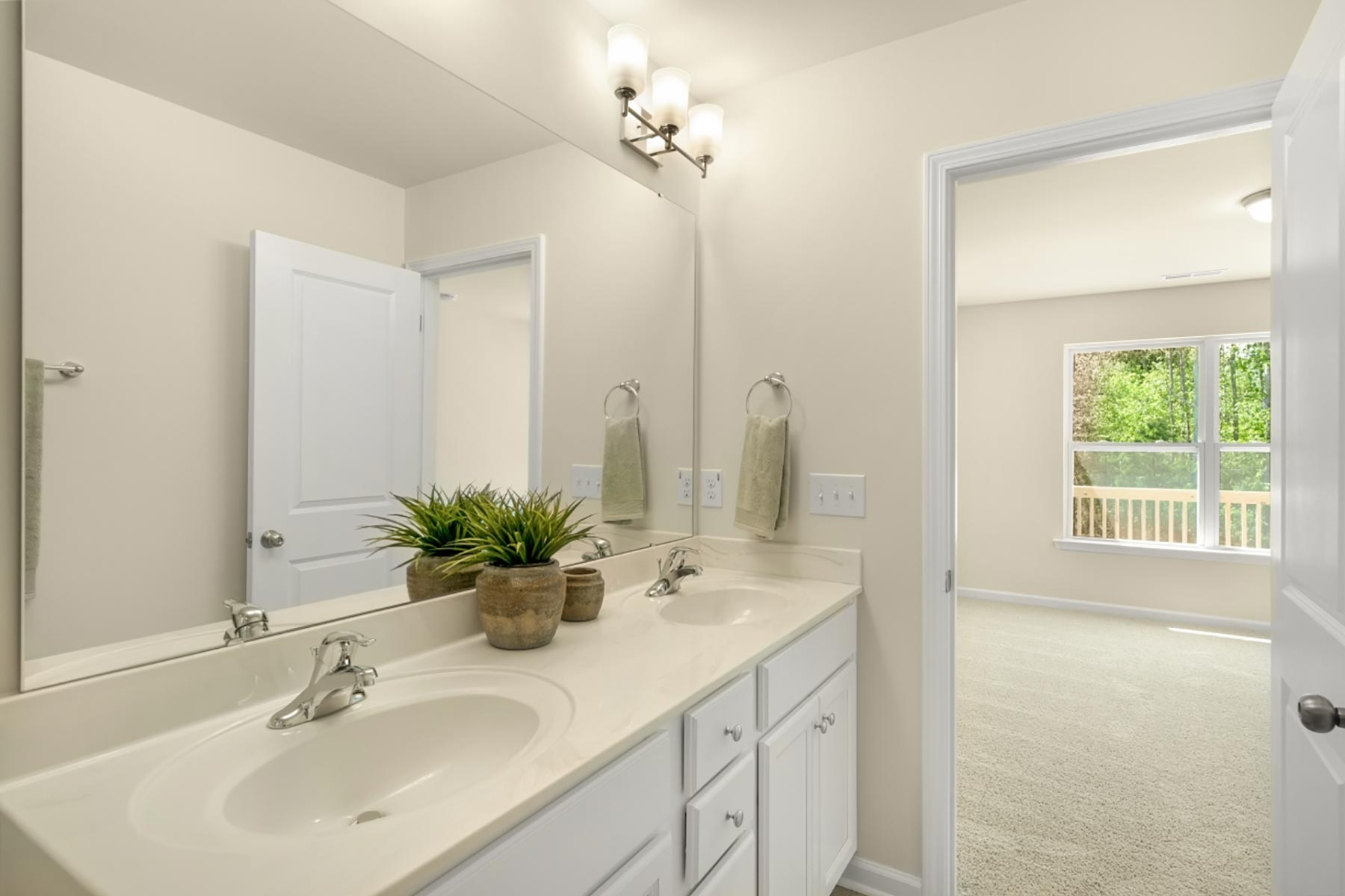 Osborn Plan Bath at Bengal Townes in Fuquay-Varina North Carolina by Mattamy Homes